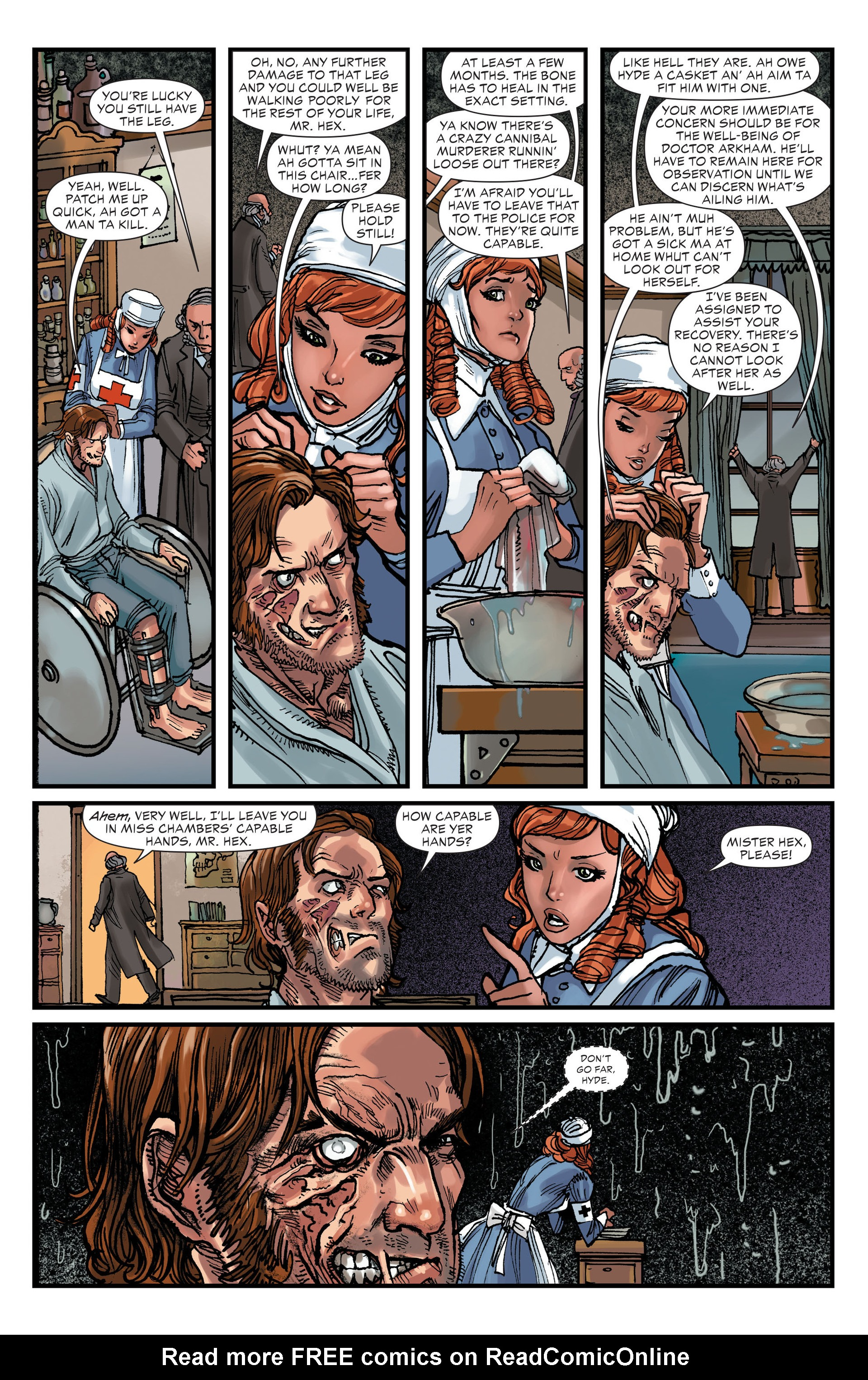 Read online All-Star Western (2011) comic -  Issue #15 - 19
