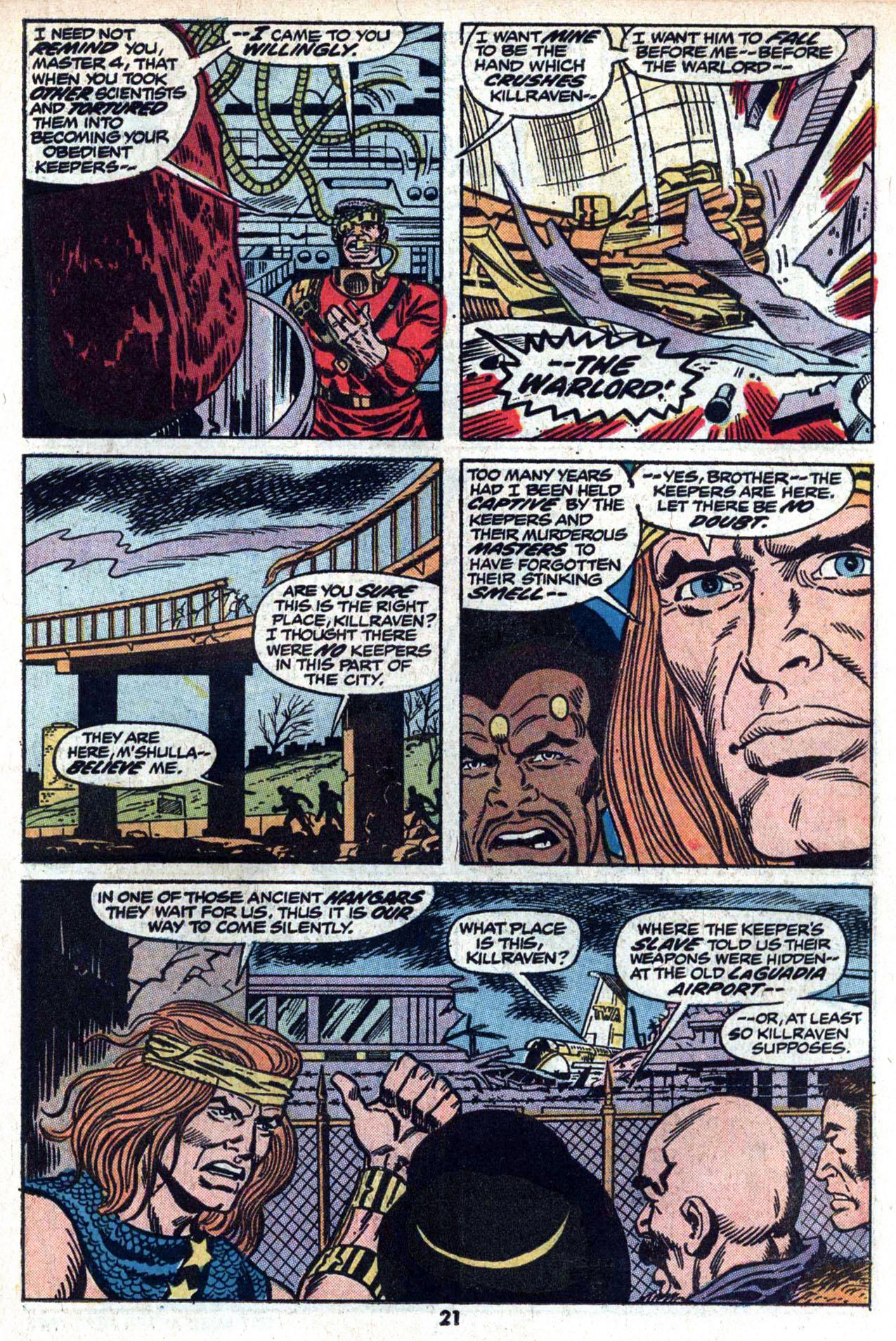Read online Amazing Adventures (1970) comic -  Issue #20 - 23