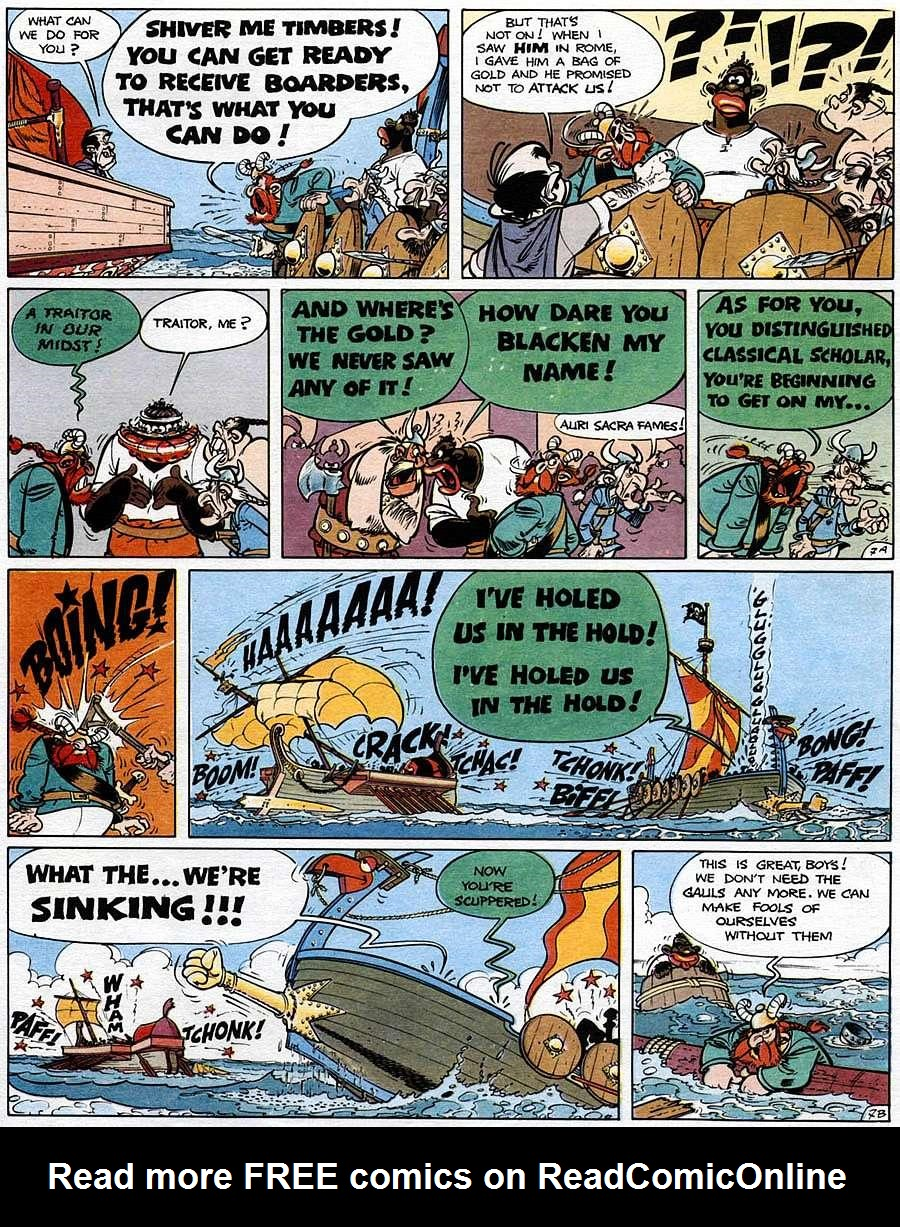 Read online Asterix comic -  Issue #15 - 12