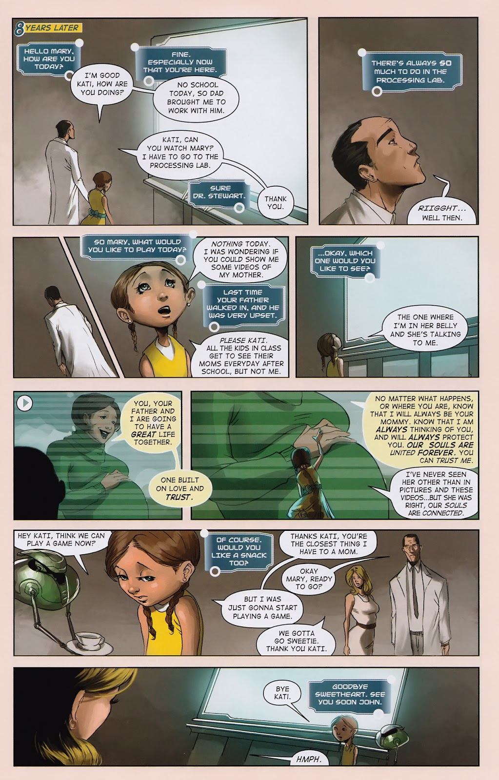 Read online Vescell comic -  Issue #2 - 17