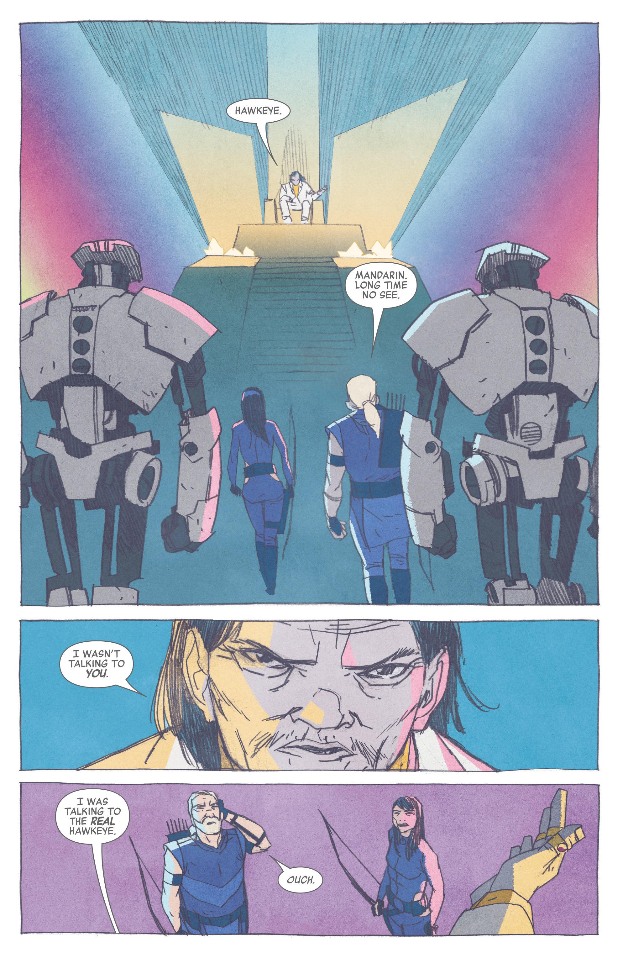 Read online All-New Hawkeye (2016) comic -  Issue #2 - 5