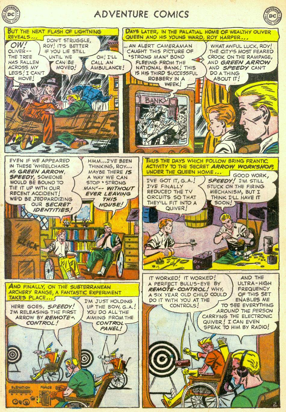 Read online Adventure Comics (1938) comic -  Issue #172 - 34
