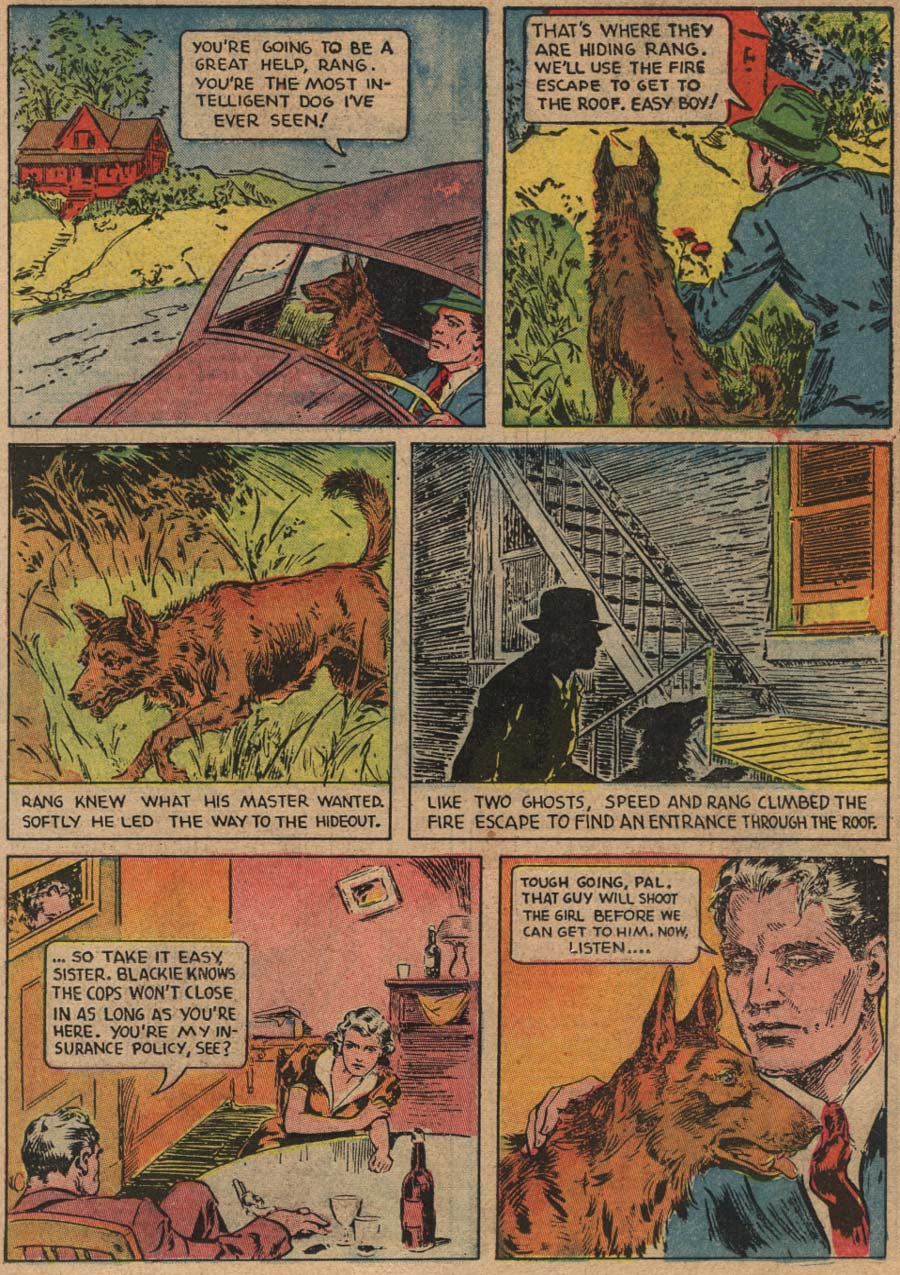 Blue Ribbon Comics (1939) issue 1 - Page 7