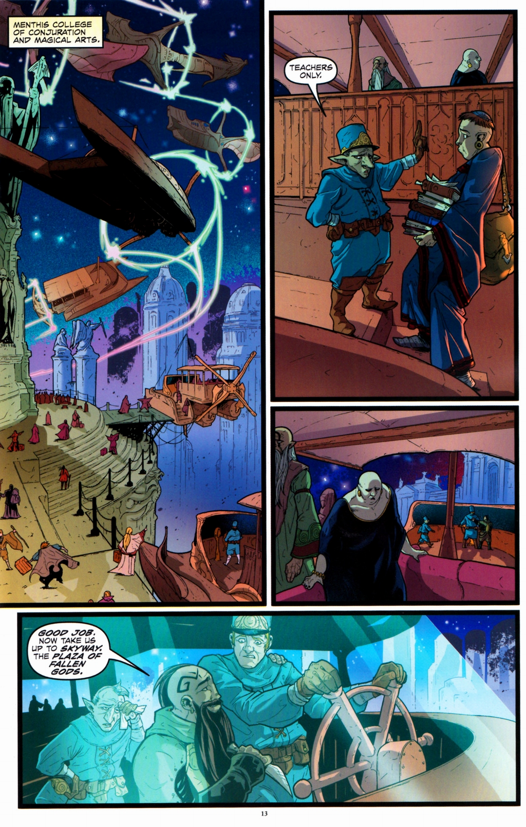 Read online Infestation 2: Dungeons & Dragons comic -  Issue #2 - 15