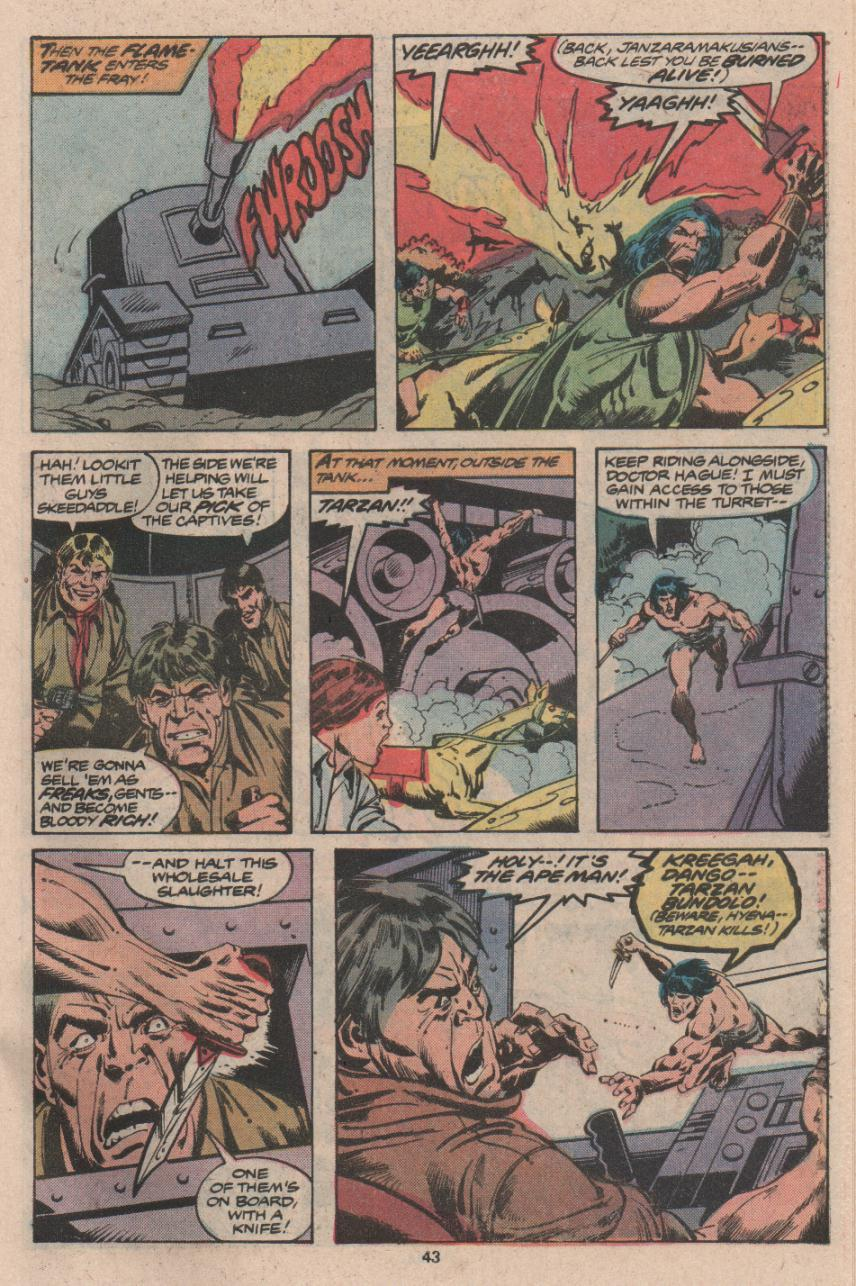 Read online Tarzan (1977) comic -  Issue # _Annual 3 - 32