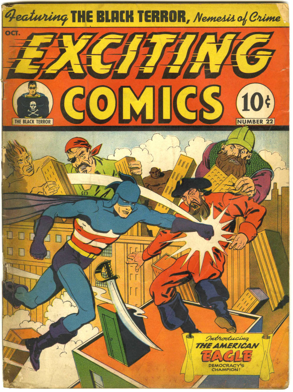 Exciting Comics (1940) 22 Page 1
