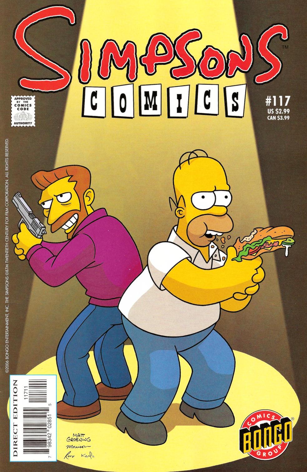 Read online Simpsons Comics comic -  Issue #117 - 1