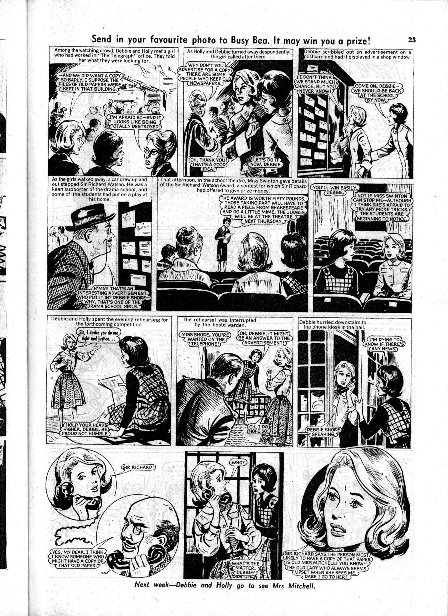 Read online Judy comic -  Issue #169 - 23