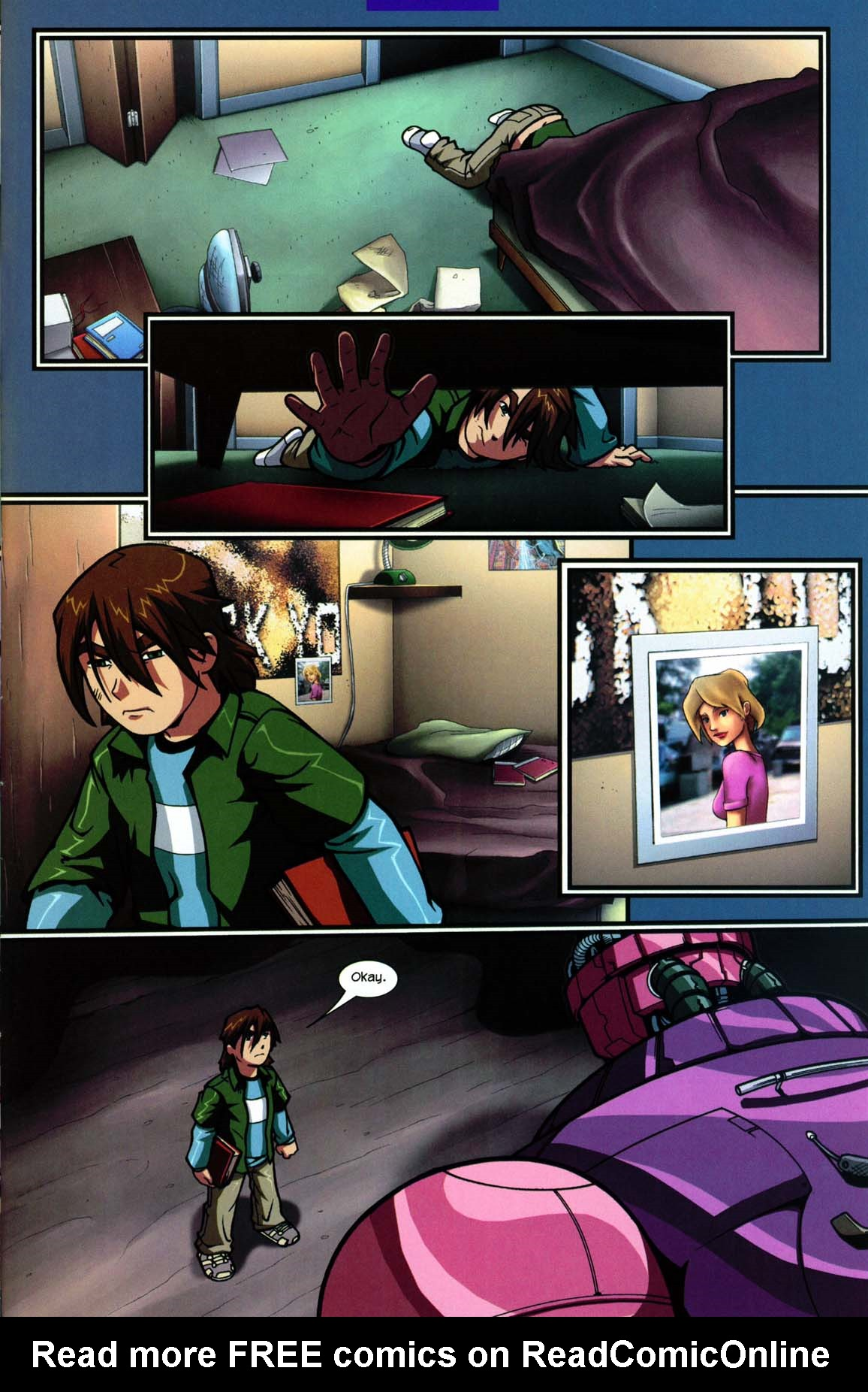 Read online Sentinel comic -  Issue #5 - 17