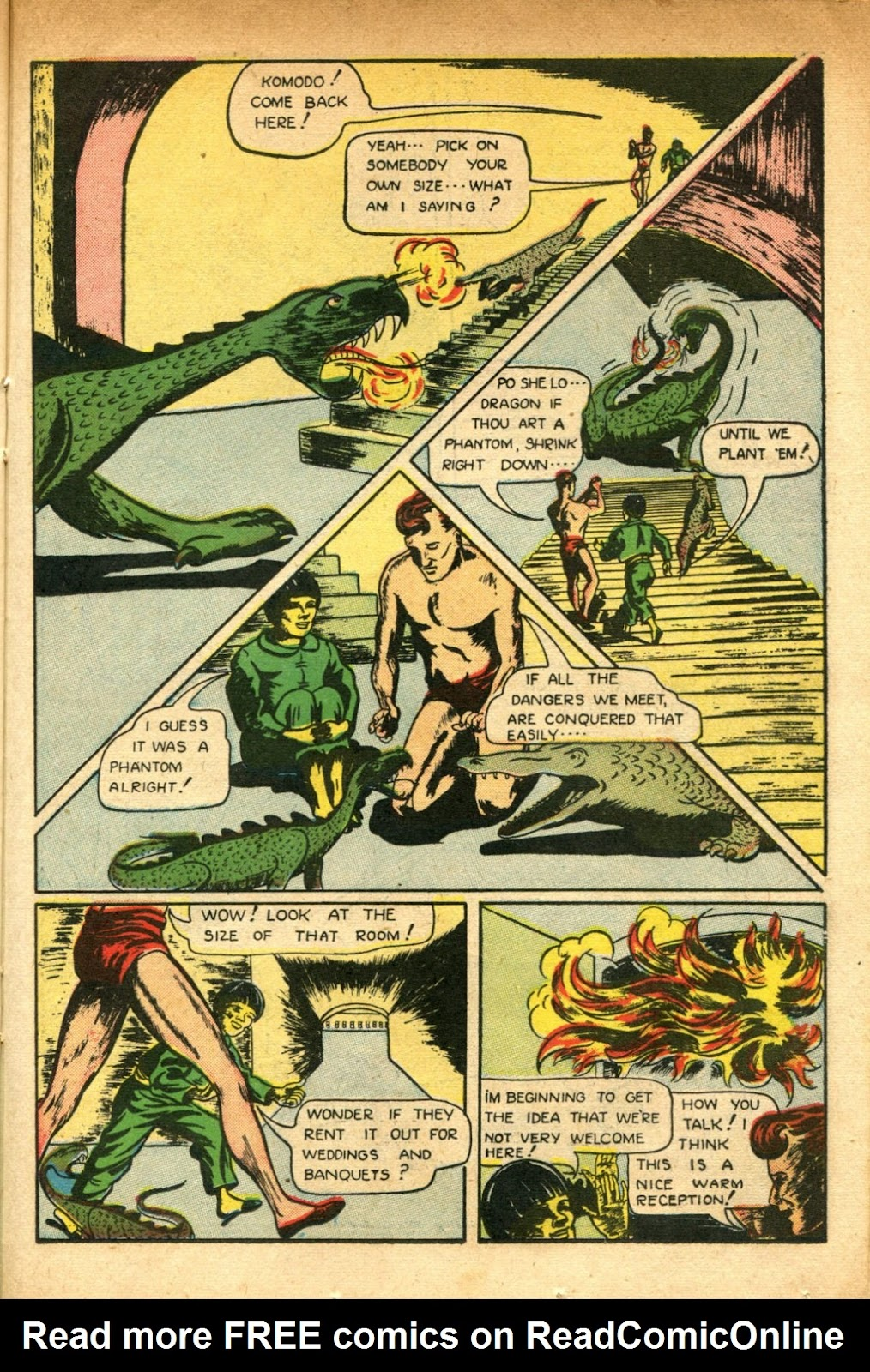 Read online Super-Magician Comics comic -  Issue #51 - 31