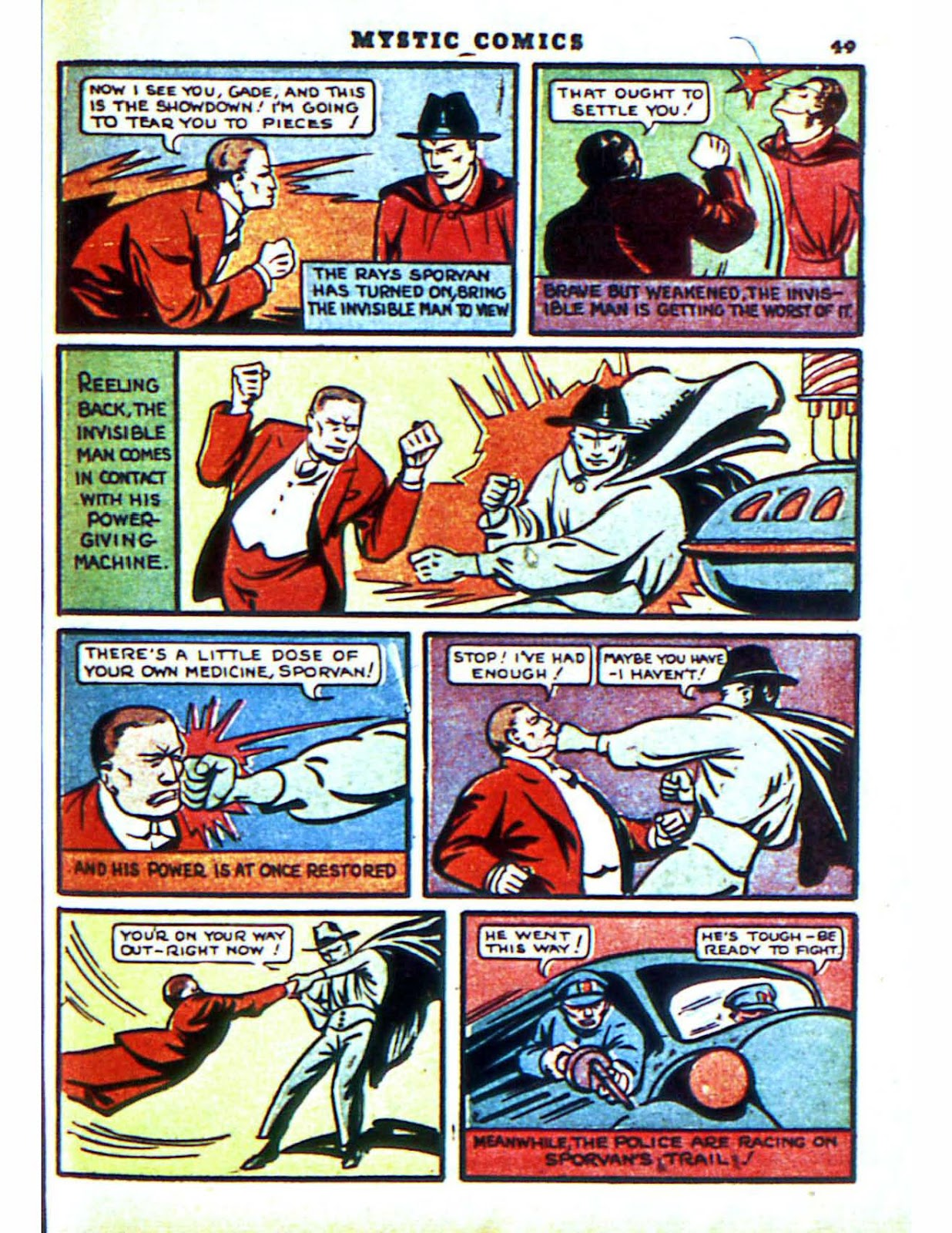 Mystic Comics (1940) issue 2 - Page 51