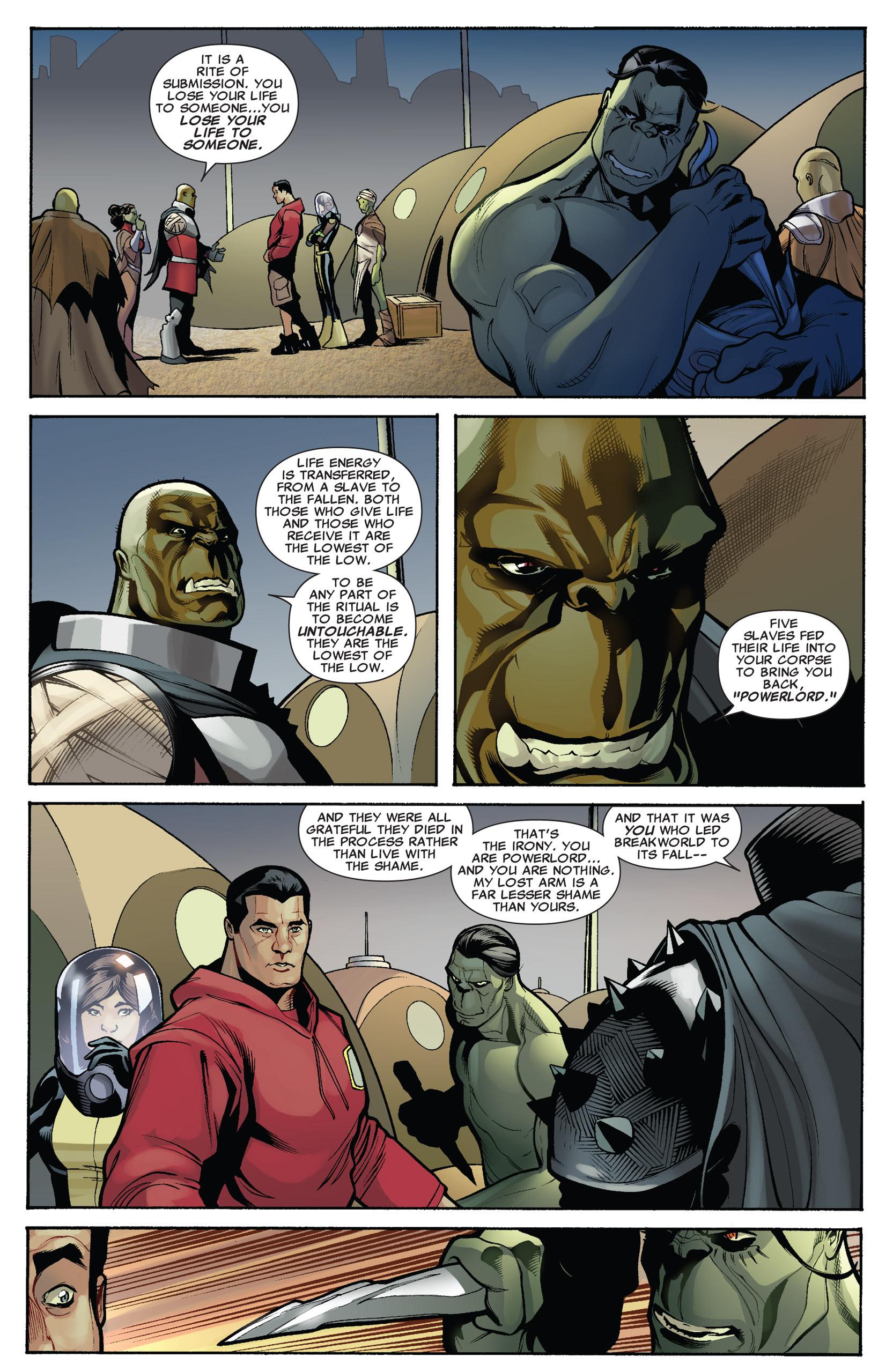 Read online Uncanny X-Men (1963) comic -  Issue #536 - 13