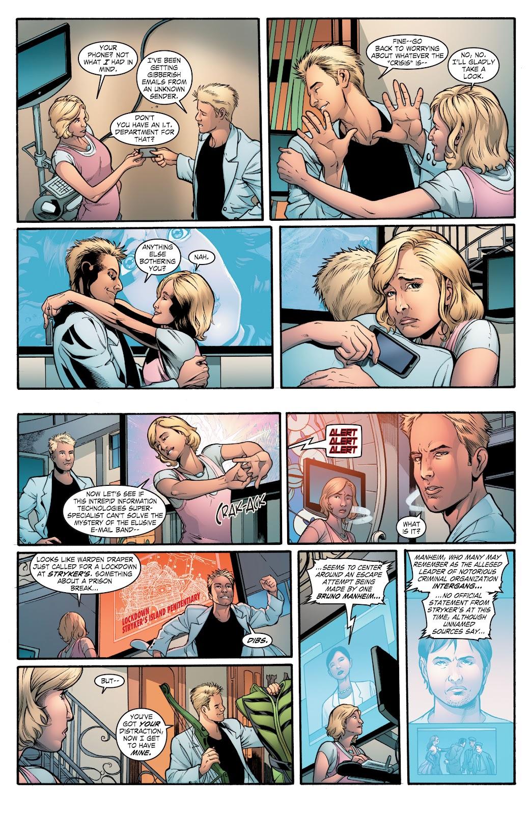 Read online Smallville Season 11 [II] comic -  Issue # TPB 2 - 40