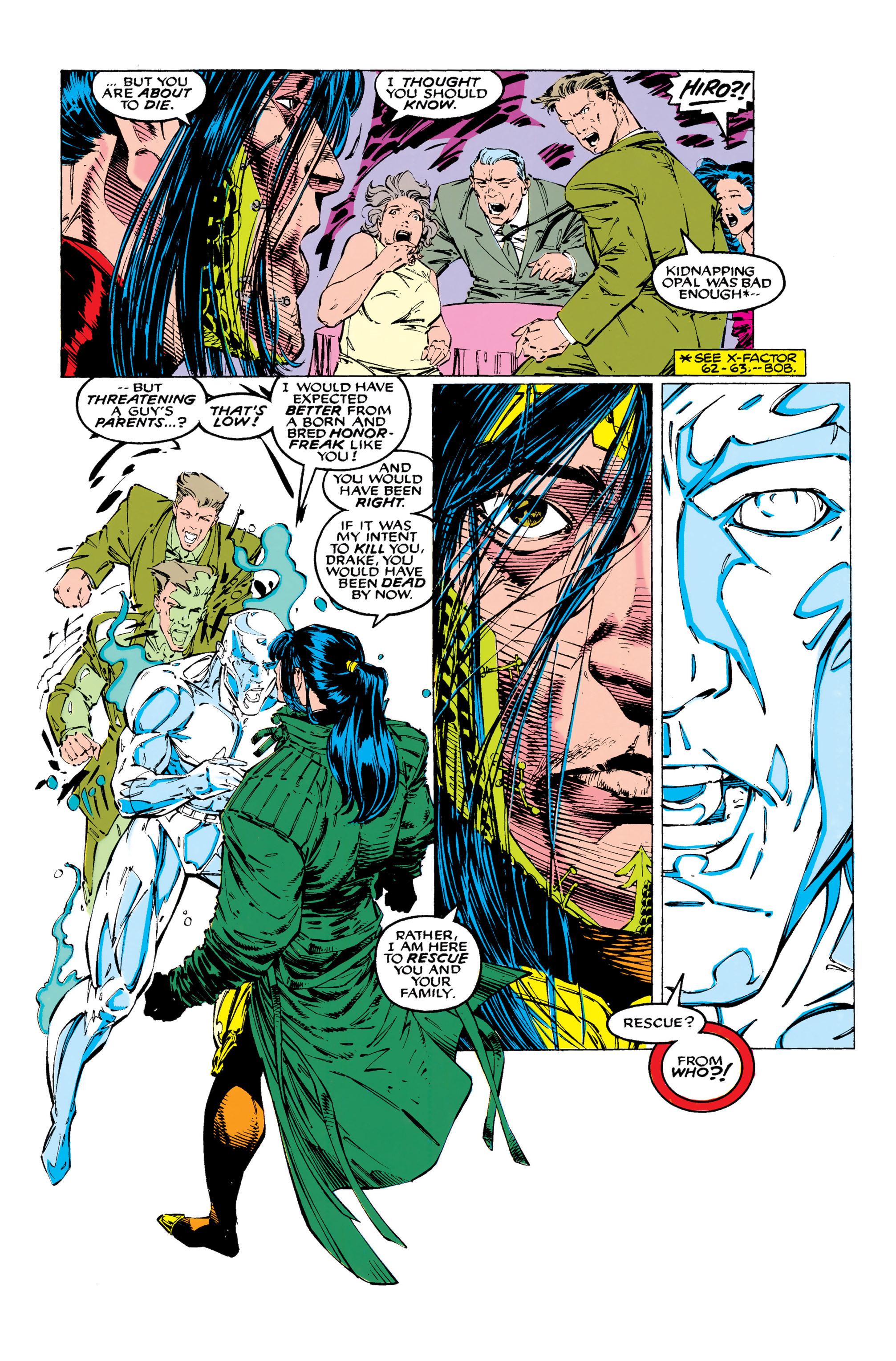 Read online Uncanny X-Men (1963) comic -  Issue #289 - 21