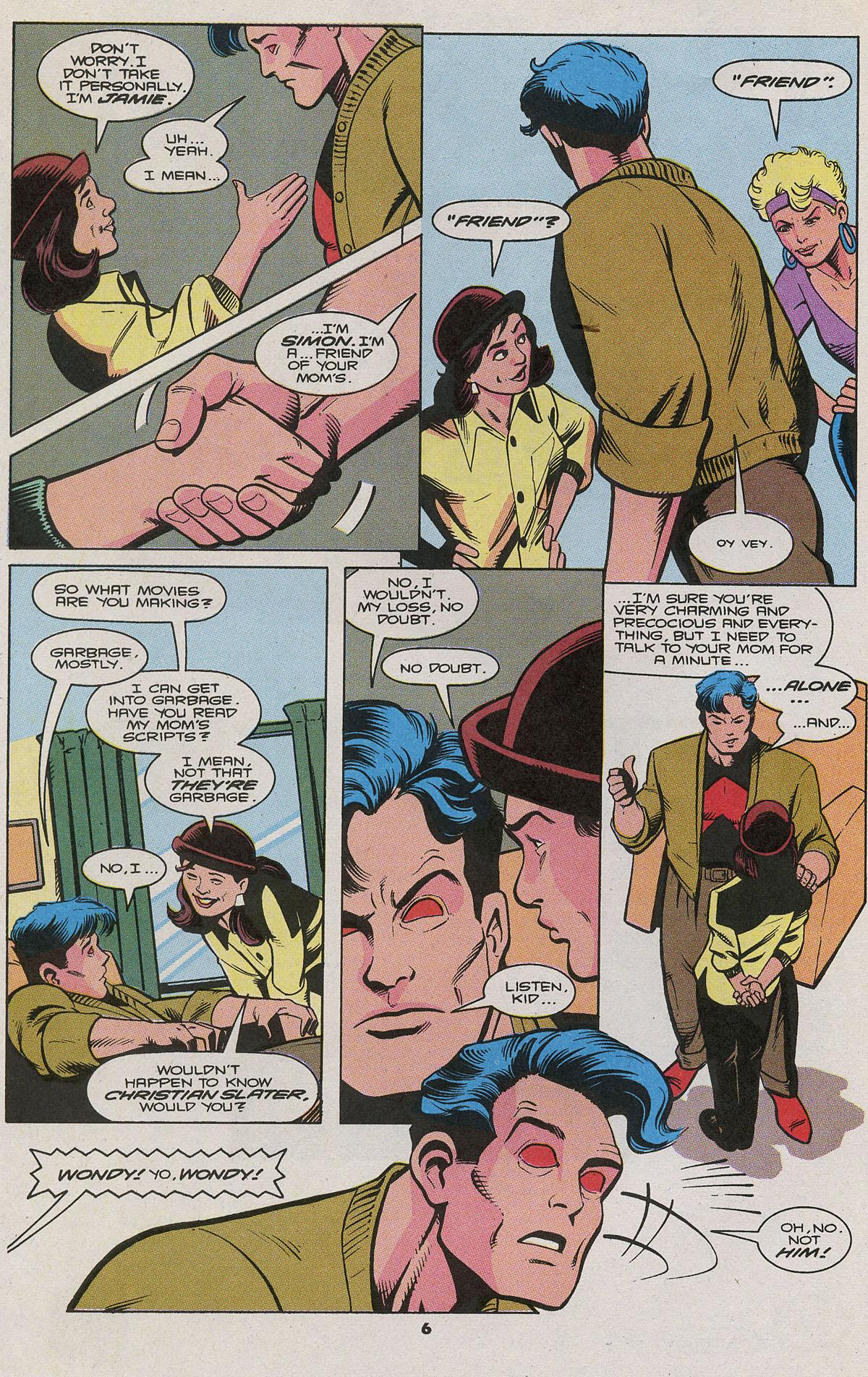 Read online Wonder Man (1991) comic -  Issue #11 - 5