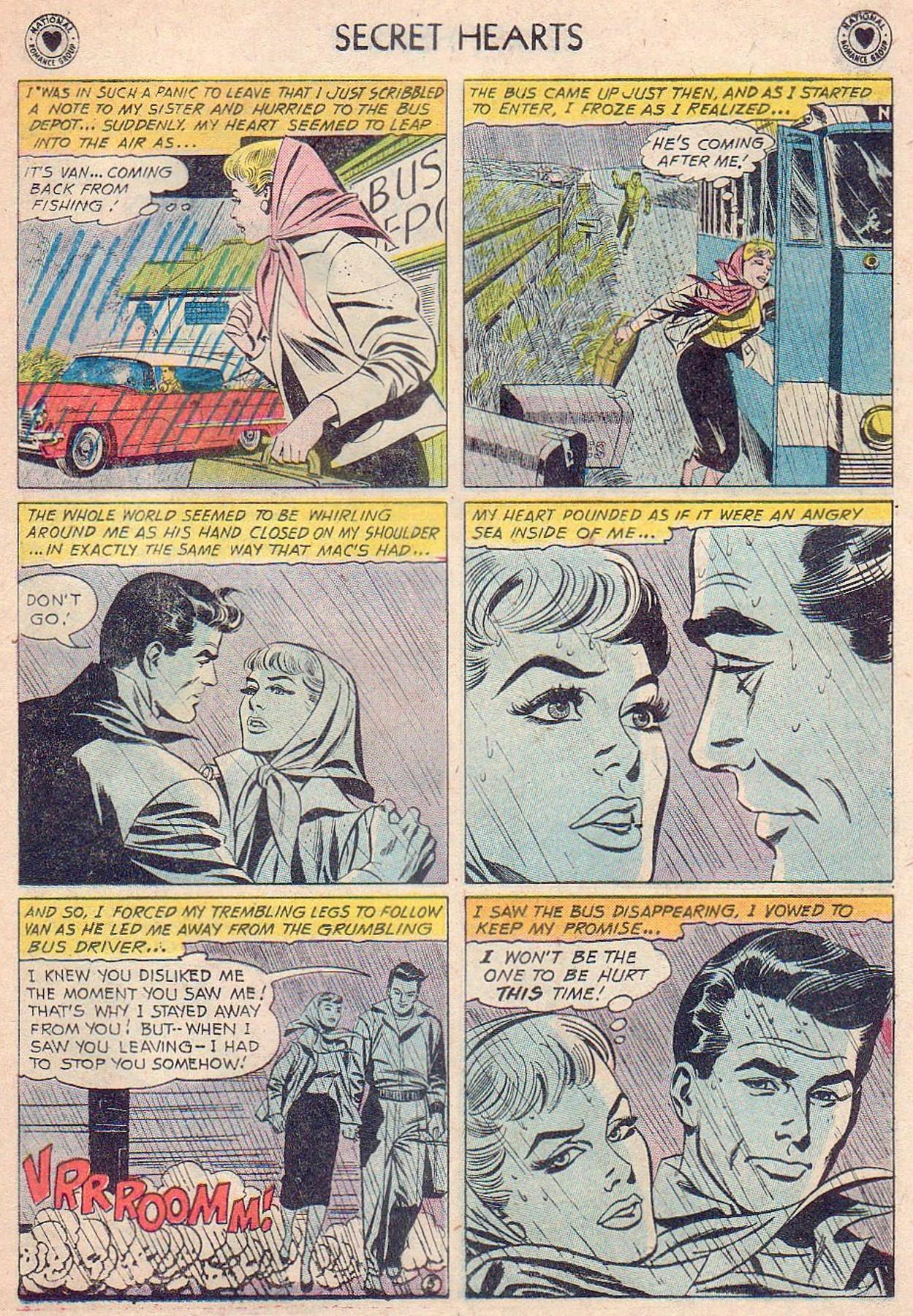 Read online Secret Hearts comic -  Issue #61 - 31