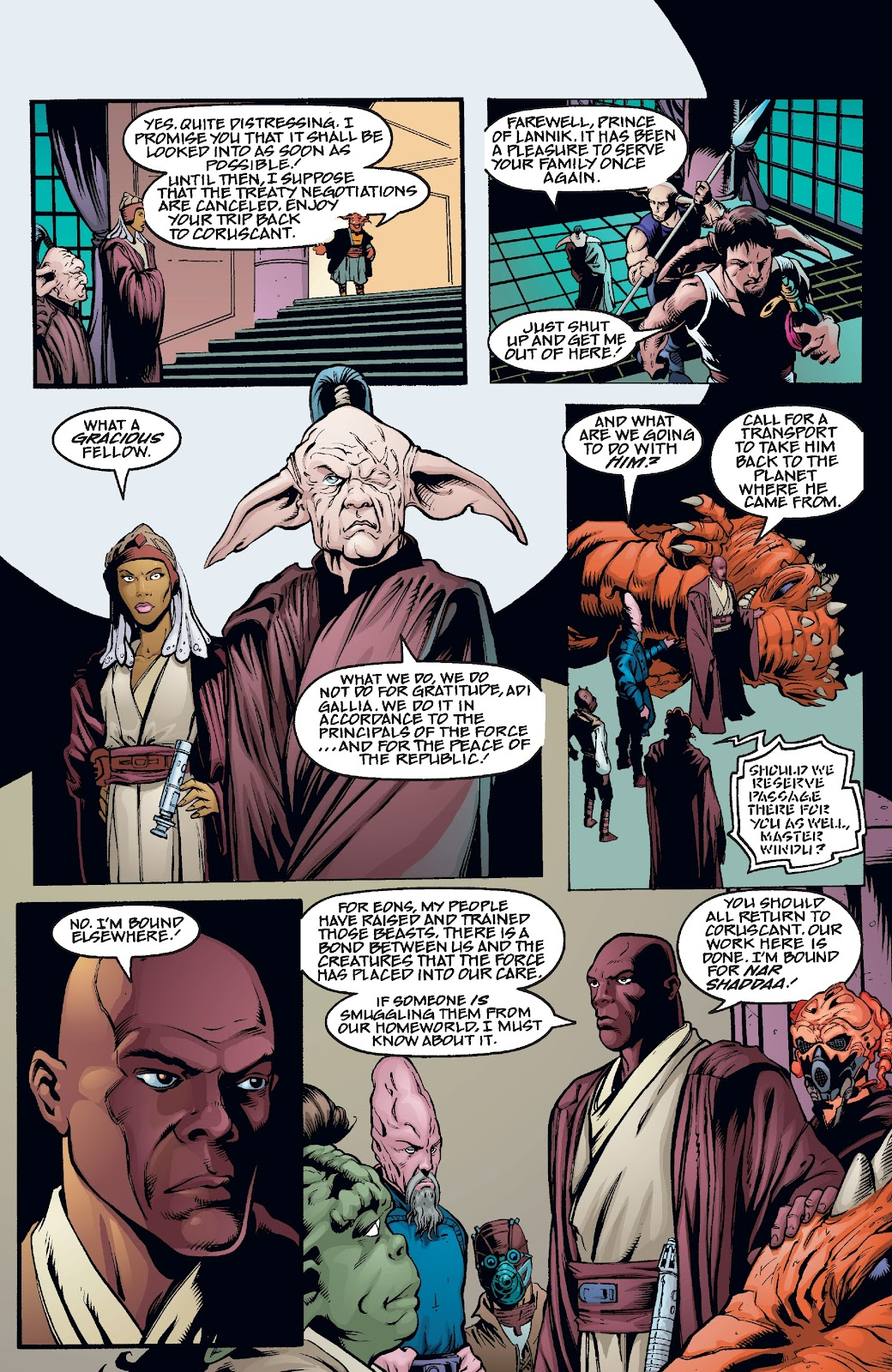 Read online Star Wars Legends Epic Collection: The Menace Revealed comic -  Issue # TPB (Part 4) - 37