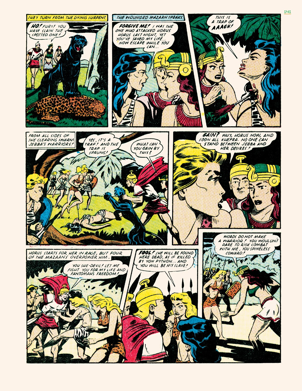 Read online Jungle Girls comic -  Issue # TPB (Part 2) - 41