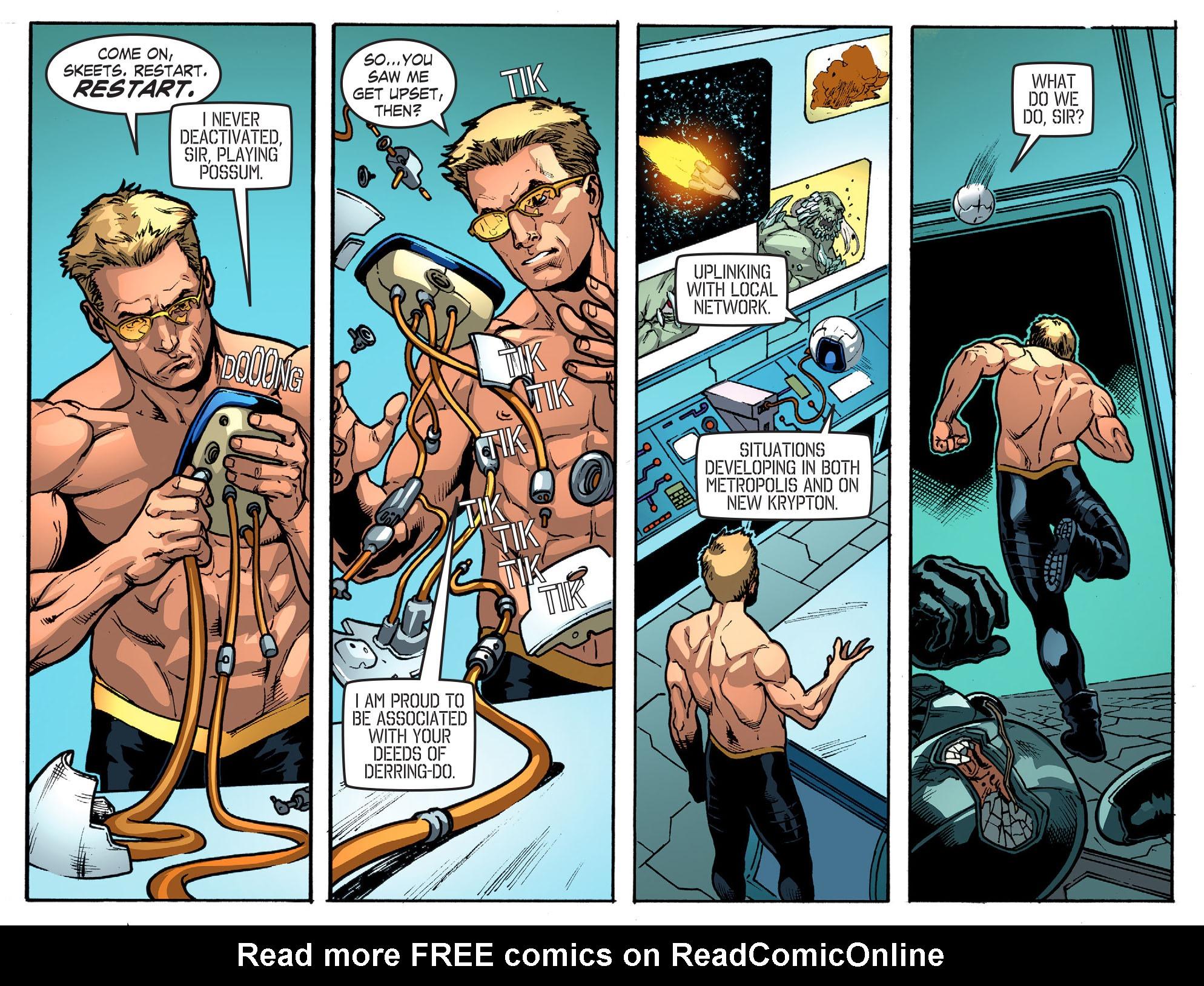 Read online Smallville: Season 11 comic -  Issue #52 - 8