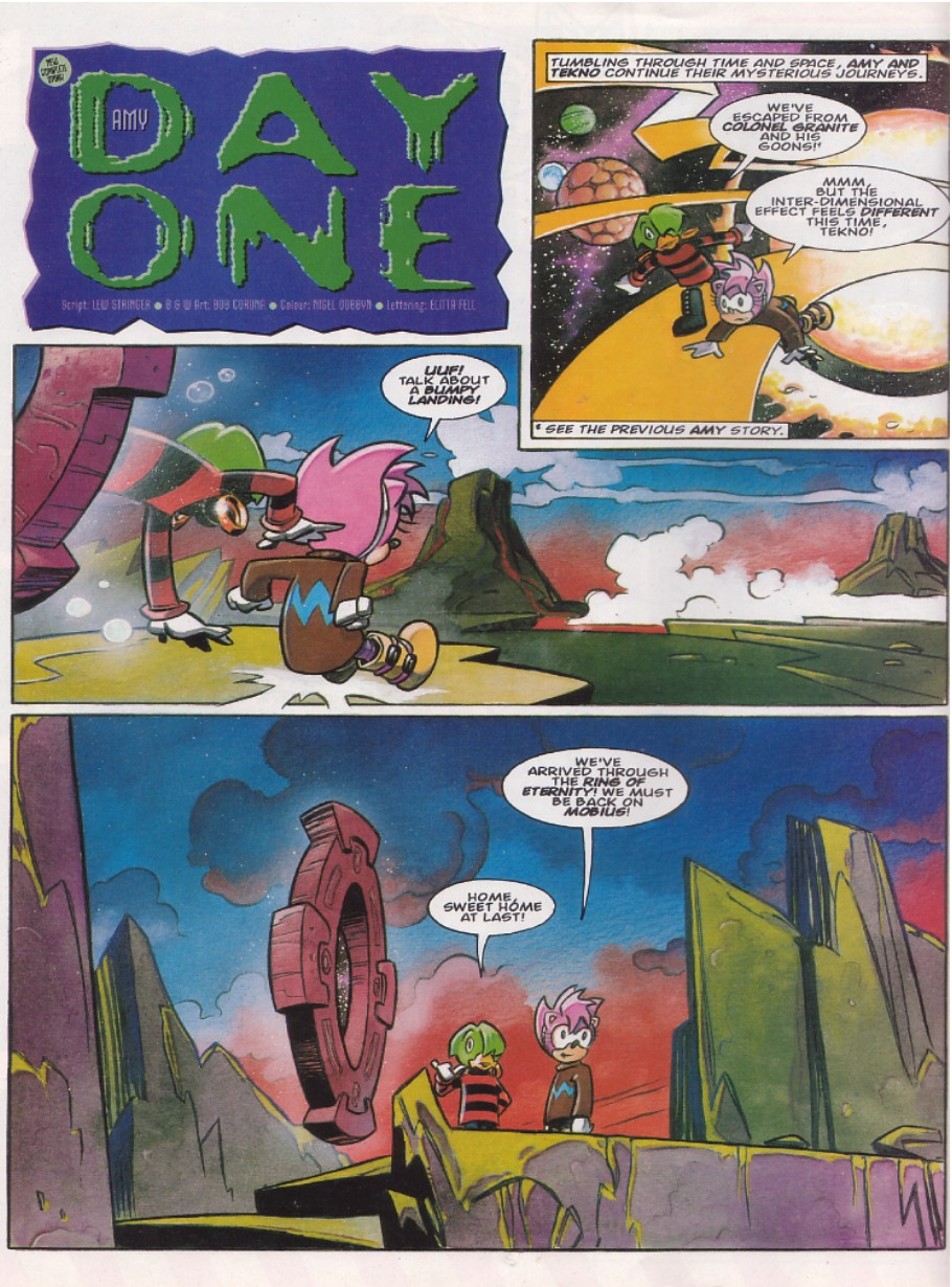 Read online Sonic the Comic comic -  Issue #142 - 9