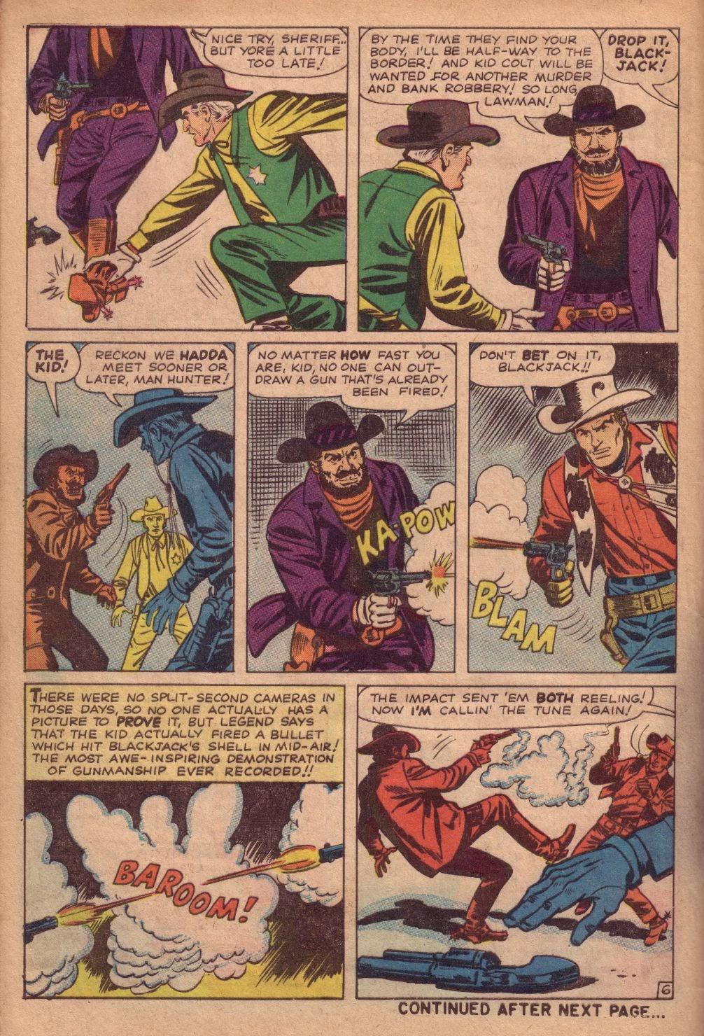 Gunsmoke Western issue 67 - Page 8