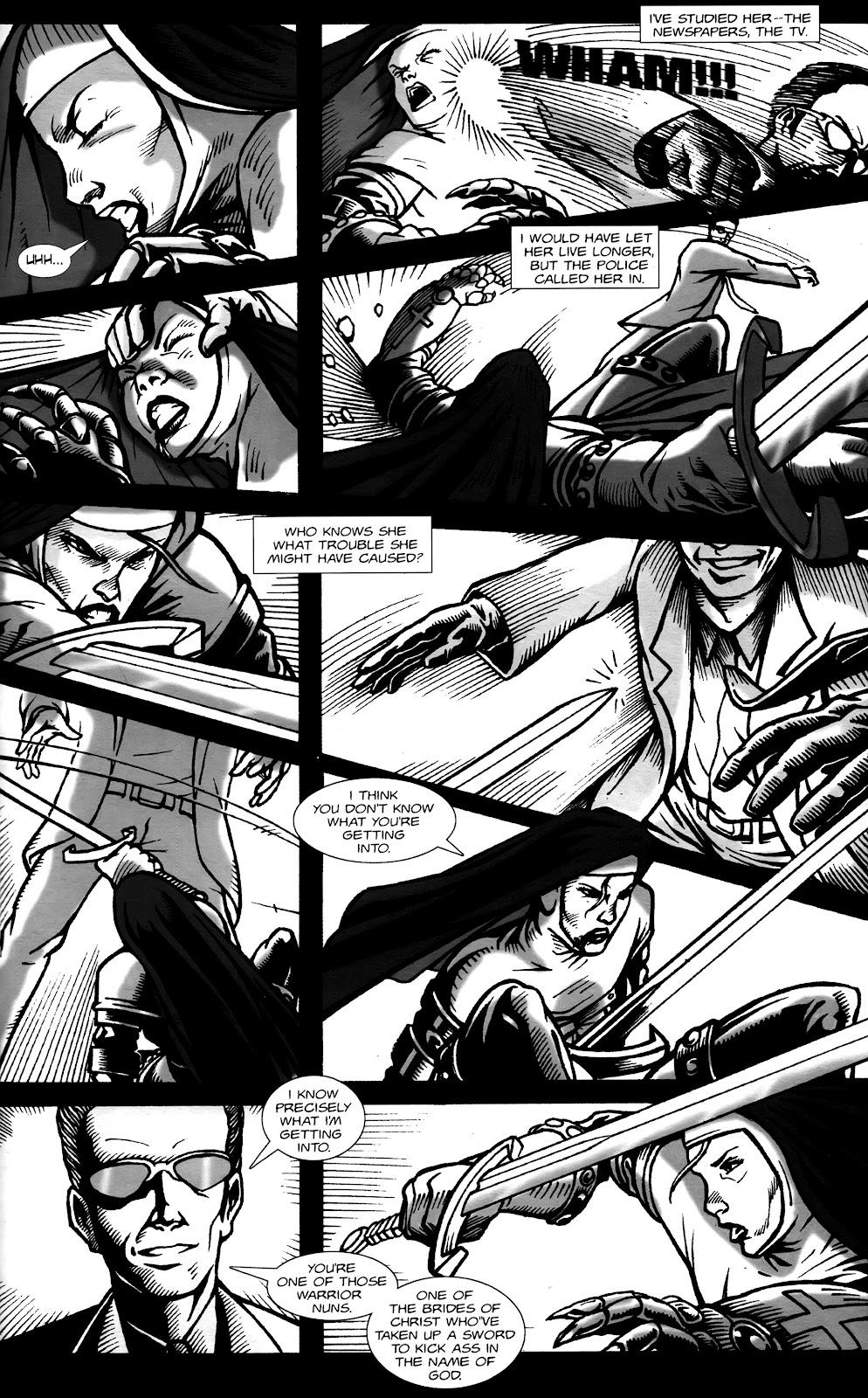 Warrior Nun Areala:  Dangerous Game Issue #1 #1 - English 32