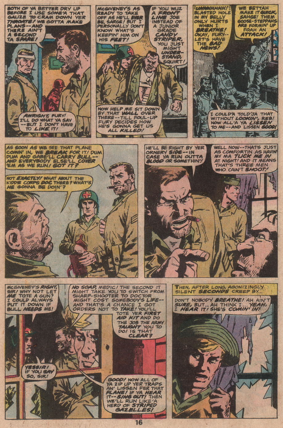 Read online Sgt. Fury comic -  Issue #141 - 18