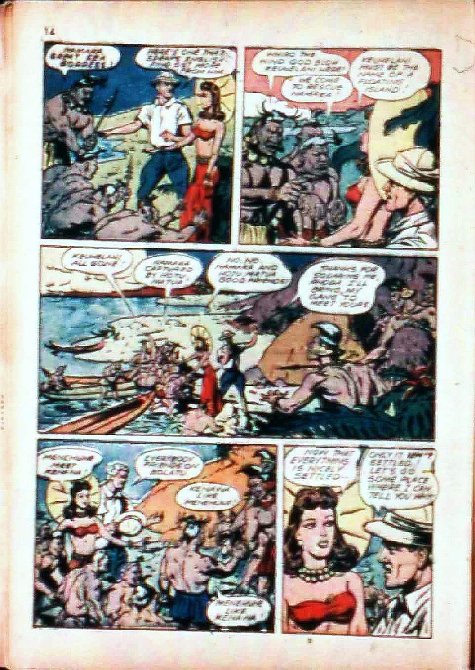 Read online Super-Magician Comics comic -  Issue #17 - 14