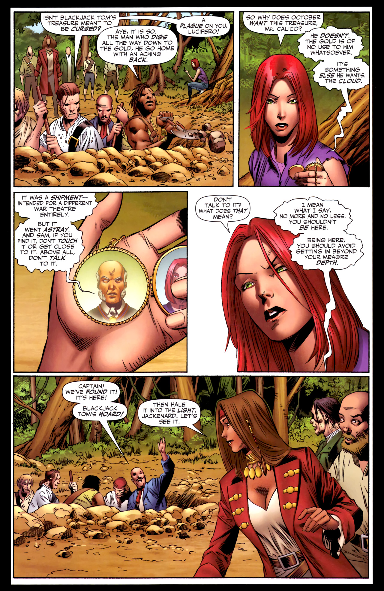 Read online Sigil (2011) comic -  Issue #3 - 19
