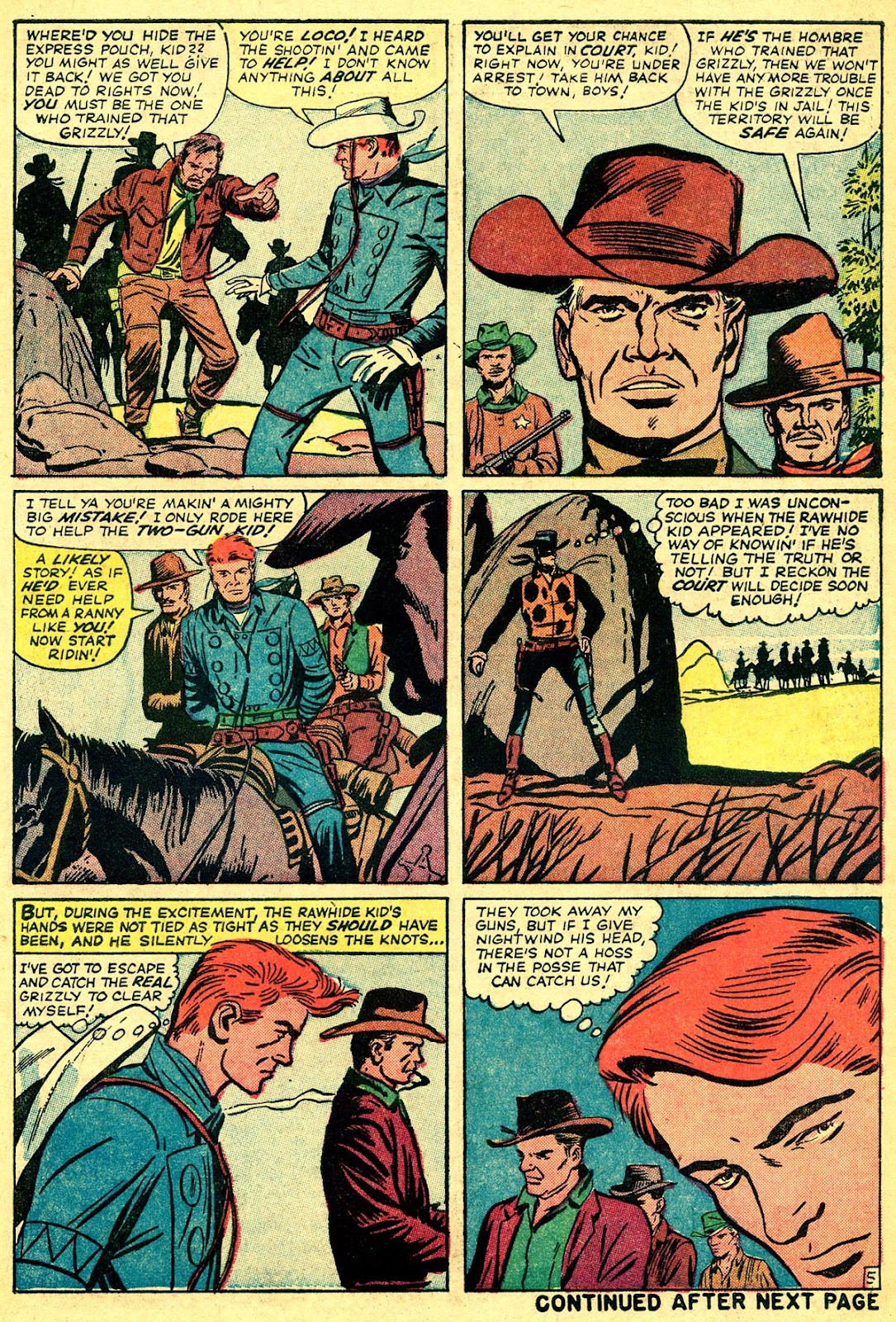 The Rawhide Kid (1955) issue 40 - Page 7