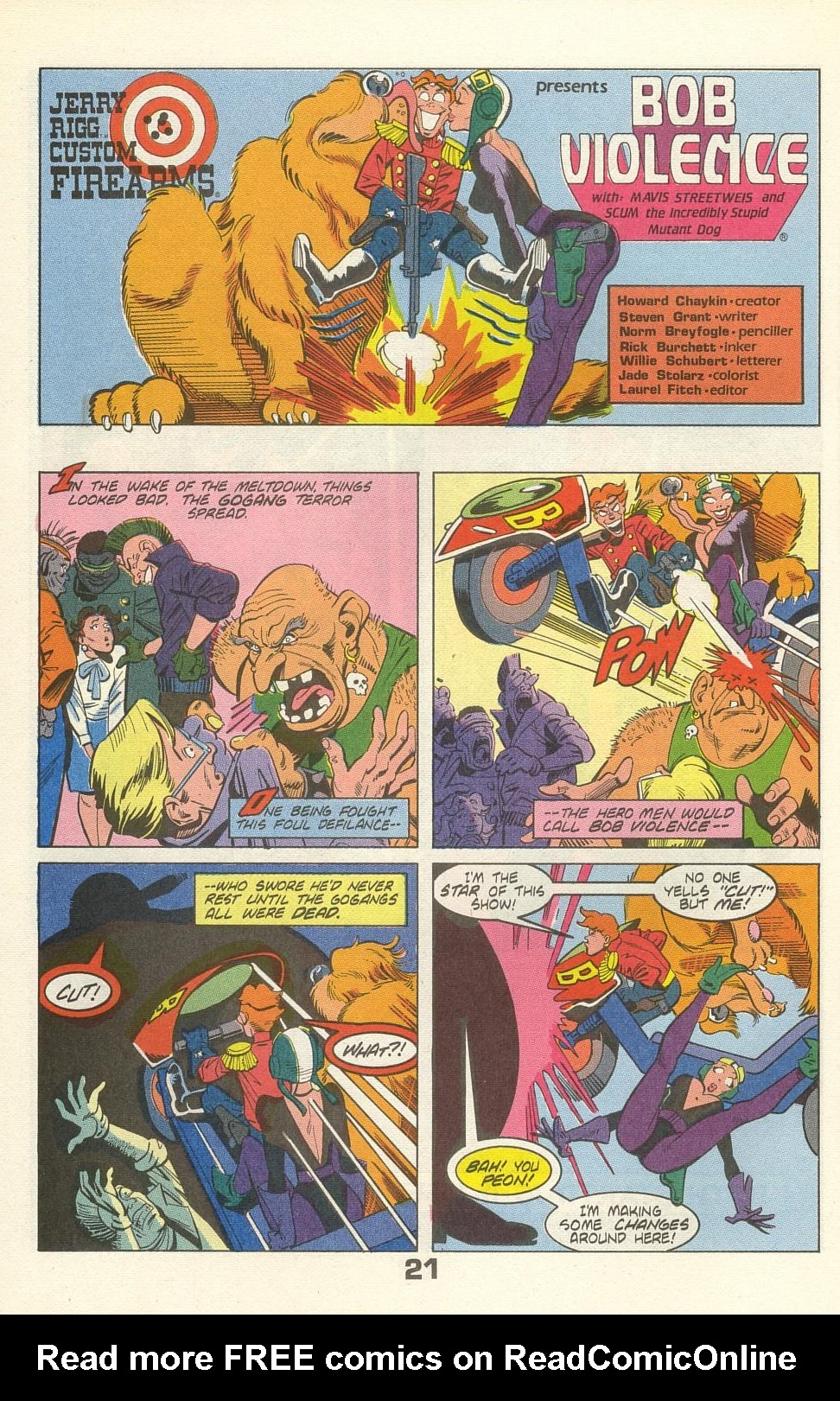 Read online American Flagg! comic -  Issue #35 - 26
