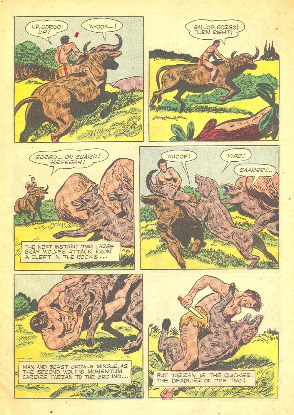 Tarzan (1948) issue 57 - Page 7