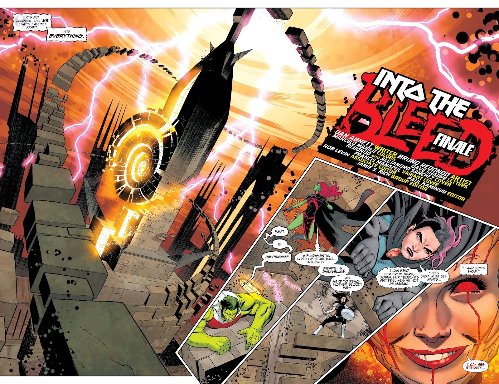 Read online Titans (2016) comic -  Issue #36 - 6