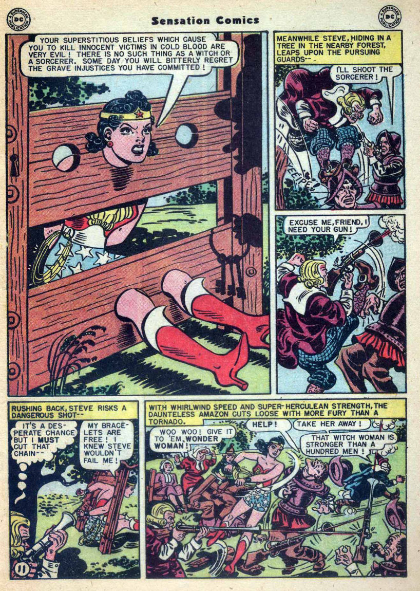 Read online Sensation (Mystery) Comics comic -  Issue #73 - 13