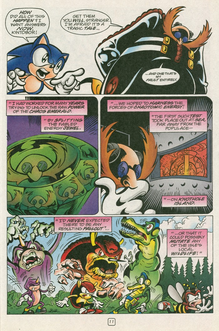 Read online Sonic Super Special comic -  Issue #12 - Sonic and Knuckles visa versa - 28
