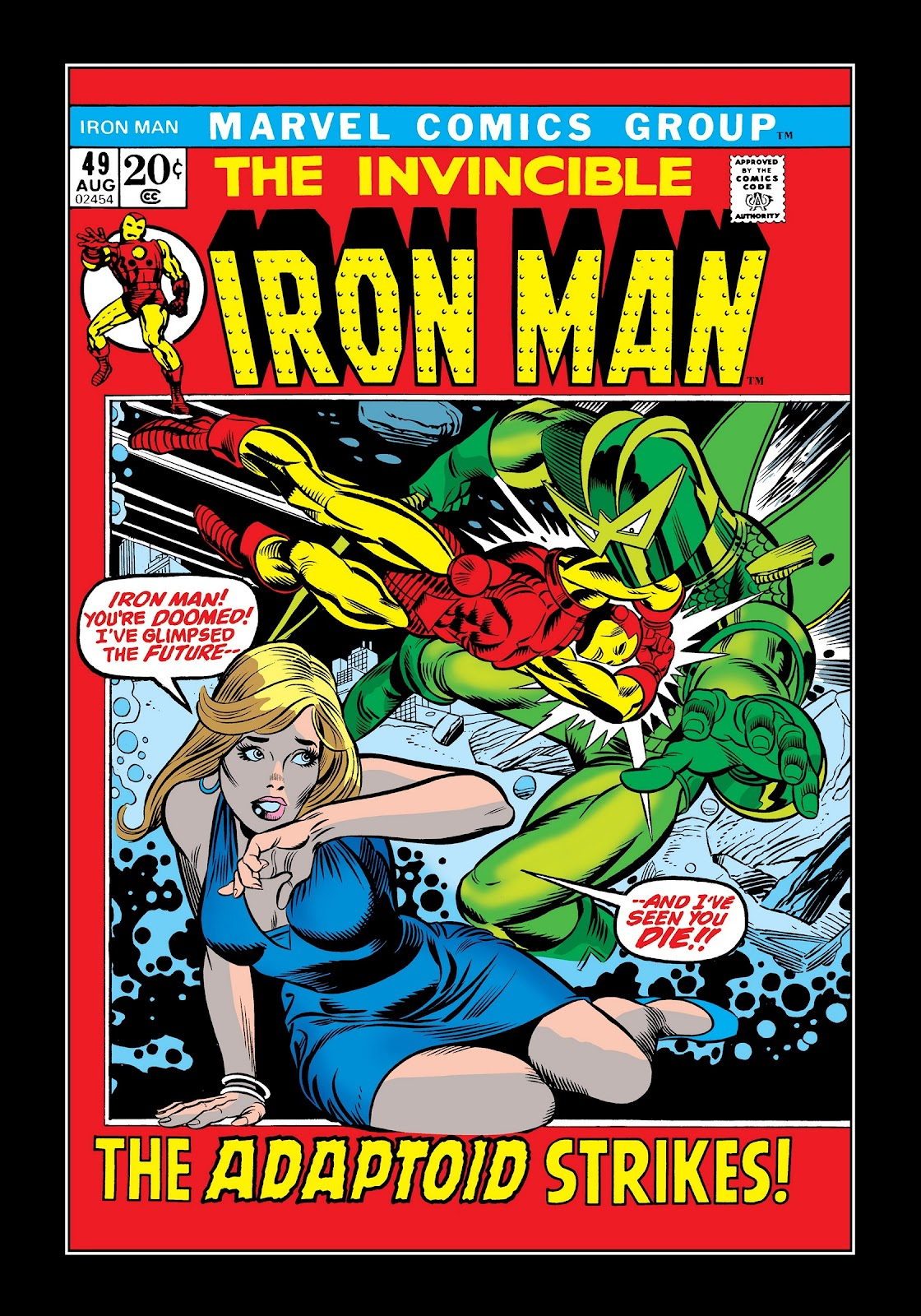 Read online Marvel Masterworks: The Invincible Iron Man comic -  Issue # TPB 8 (Part 3) - 10