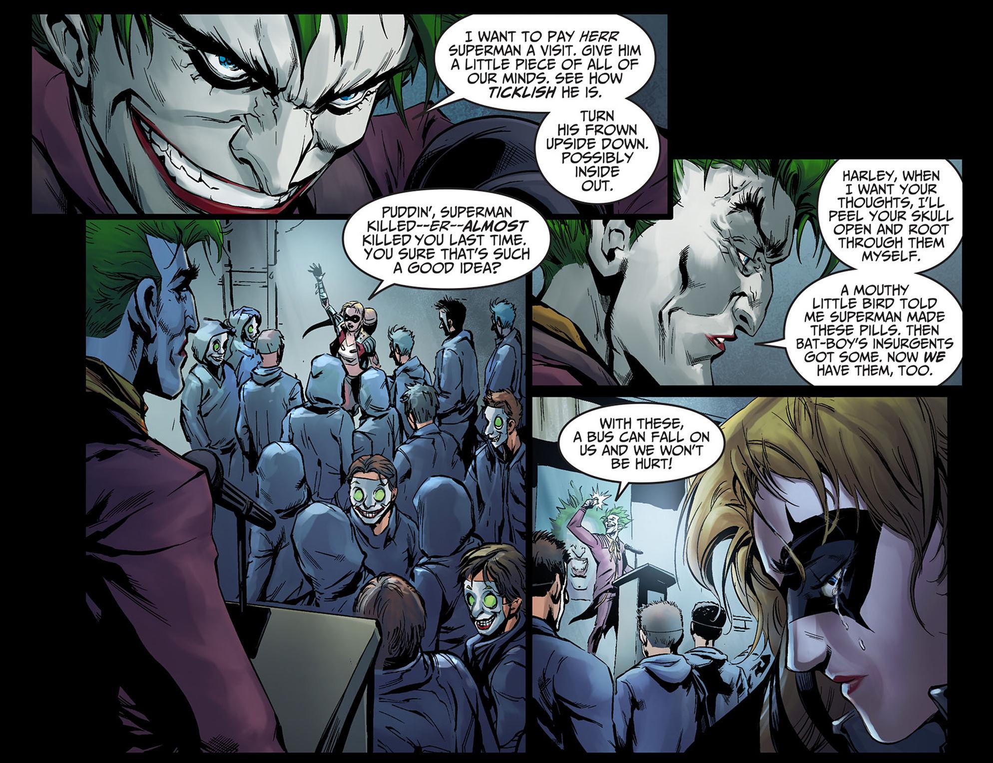 Read online Injustice: Ground Zero comic -  Issue #5 - 20