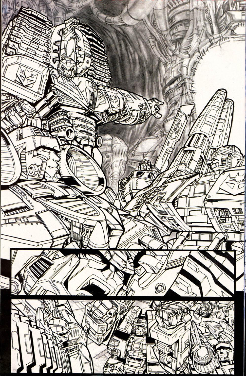 Read online Transformers Armada comic -  Issue #0 - 14