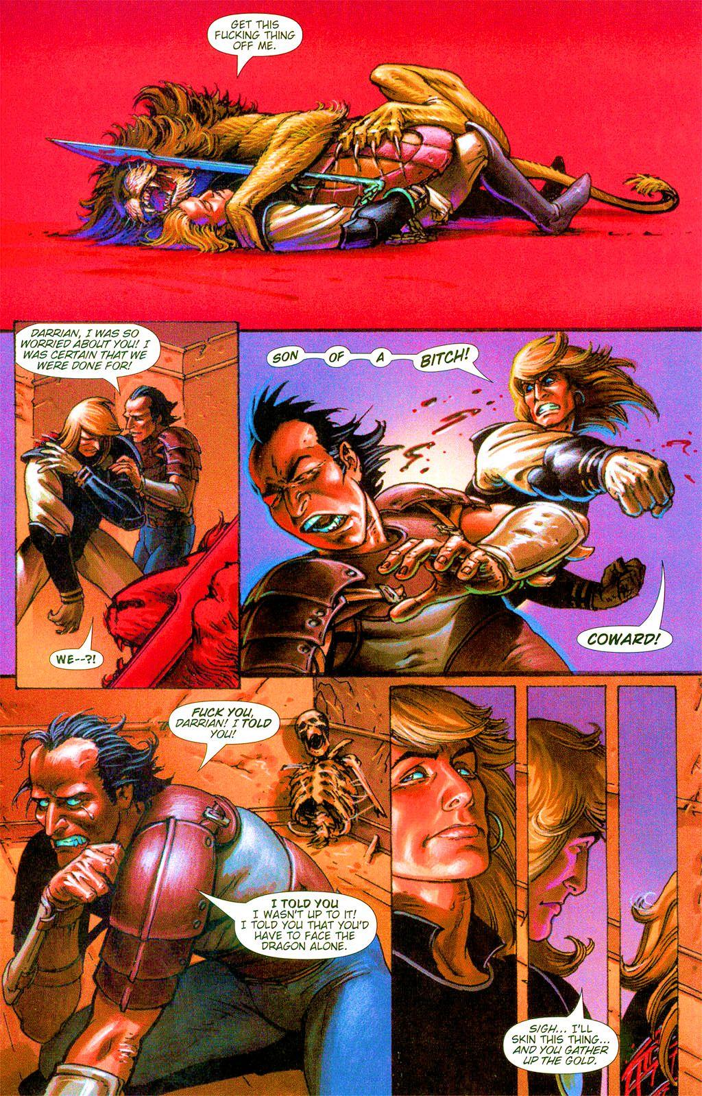 Read online Dawn: Three Tiers comic -  Issue #3 - 22