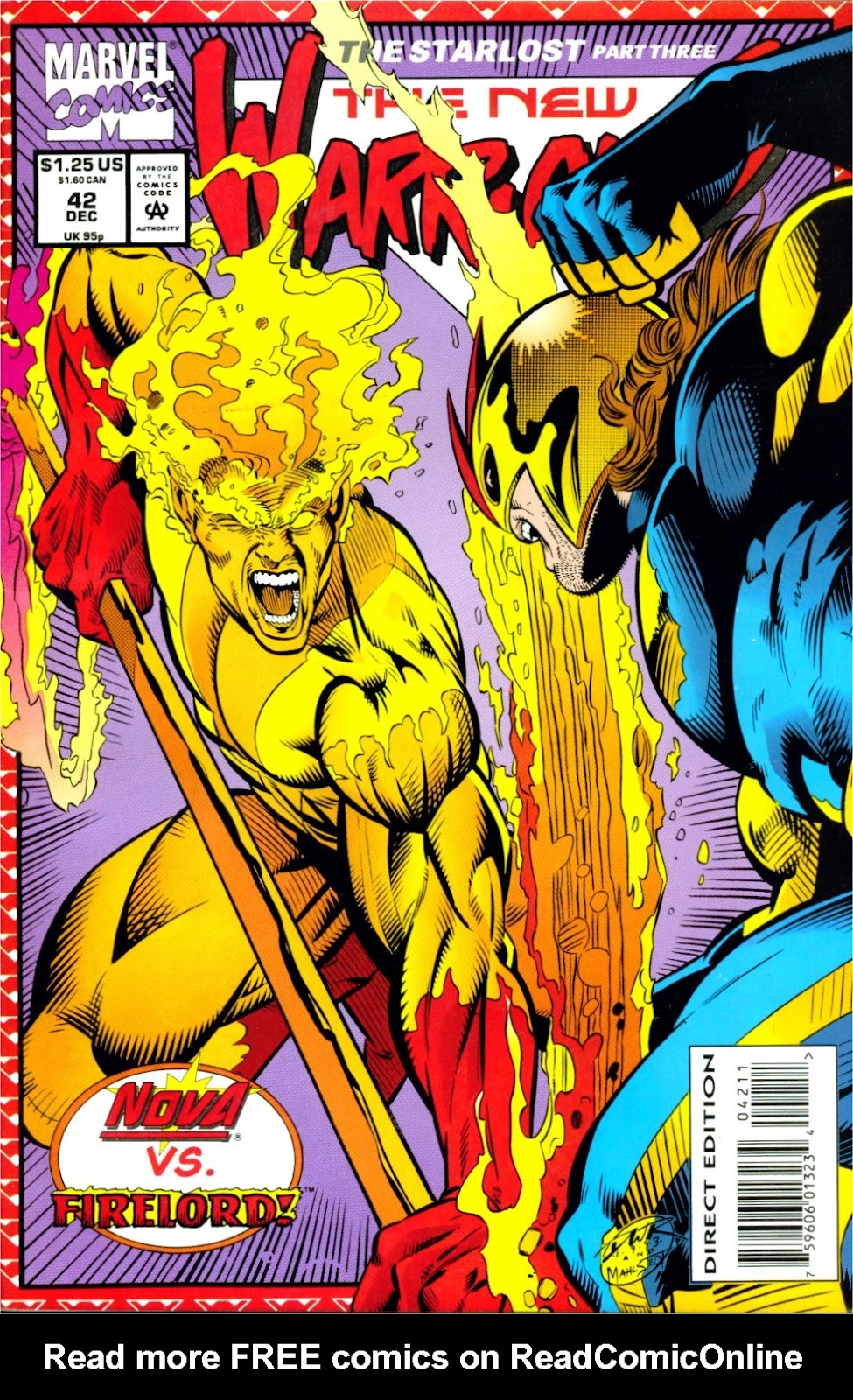 The New Warriors Issue #42 #46 - English 1