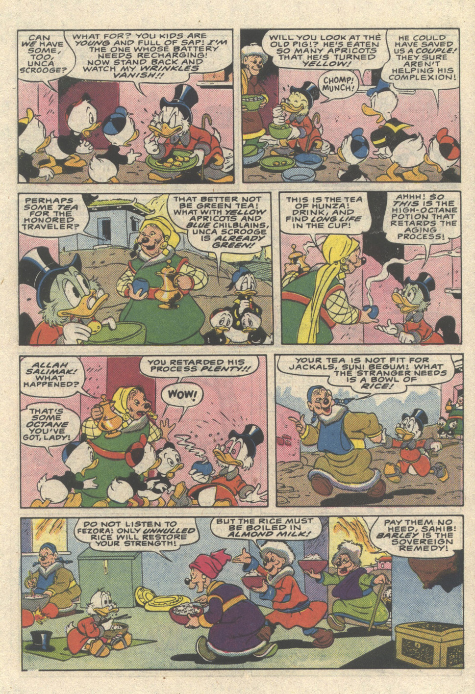 Read online Uncle Scrooge (1953) comic -  Issue #216 - 7