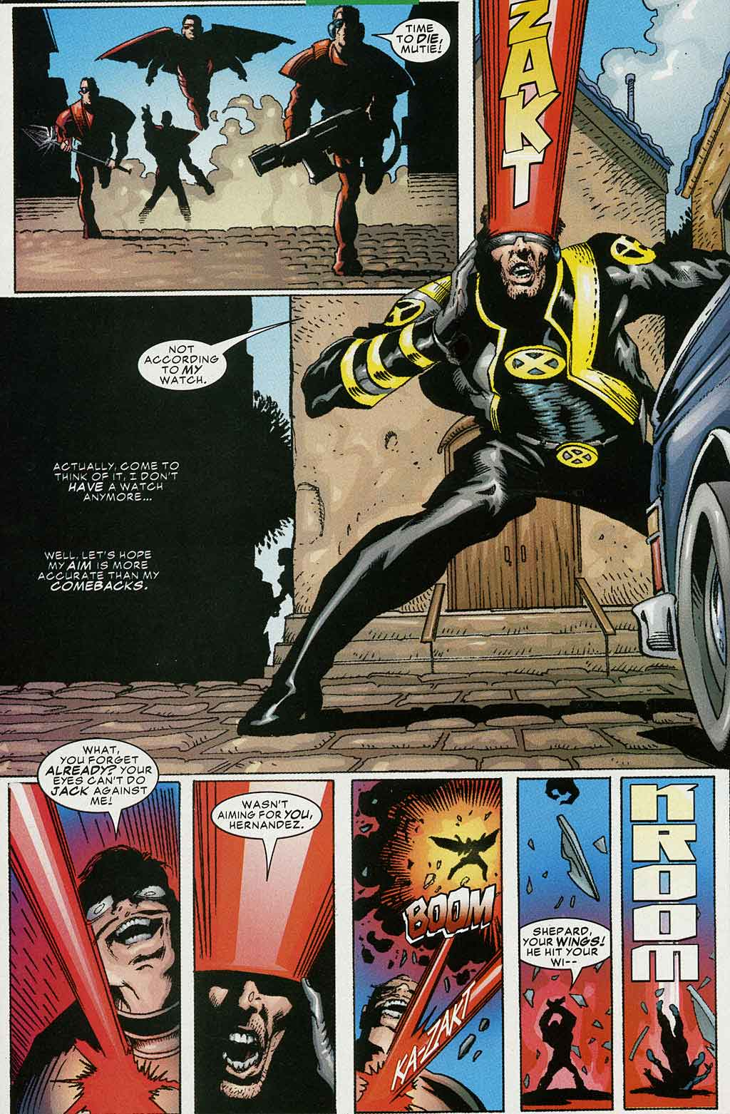 Read online Cyclops (2001) comic -  Issue #4 - 16