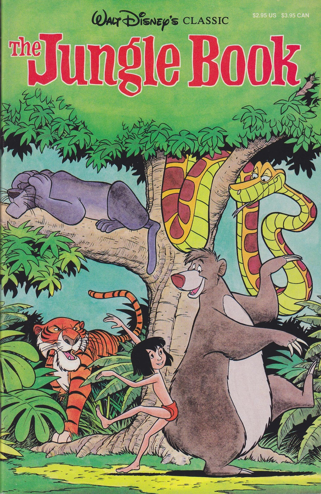 Read online The Jungle Book comic -  Issue # Full - 1