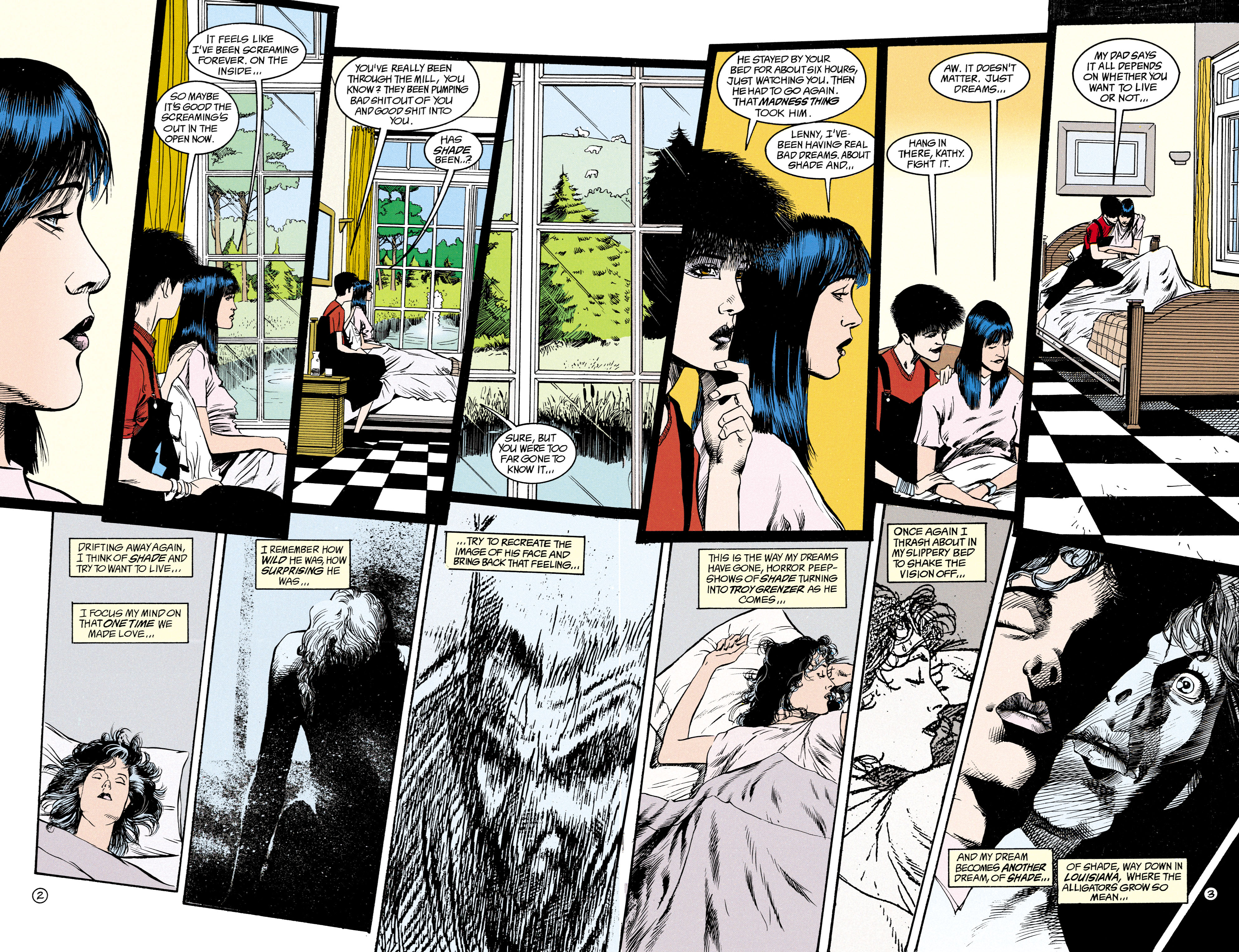Read online Shade, the Changing Man comic -  Issue #15 - 3