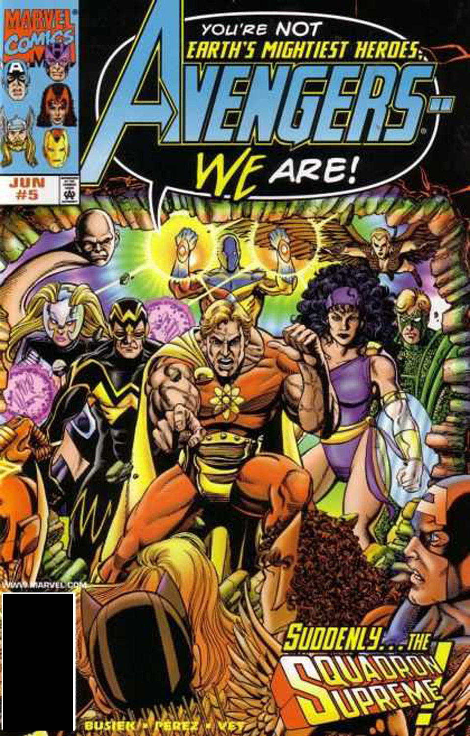 Read online Avengers (1998) comic -  Issue #5 - 1