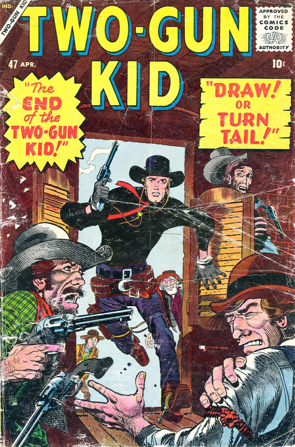 Read online Two-Gun Kid comic -  Issue #47 - 1