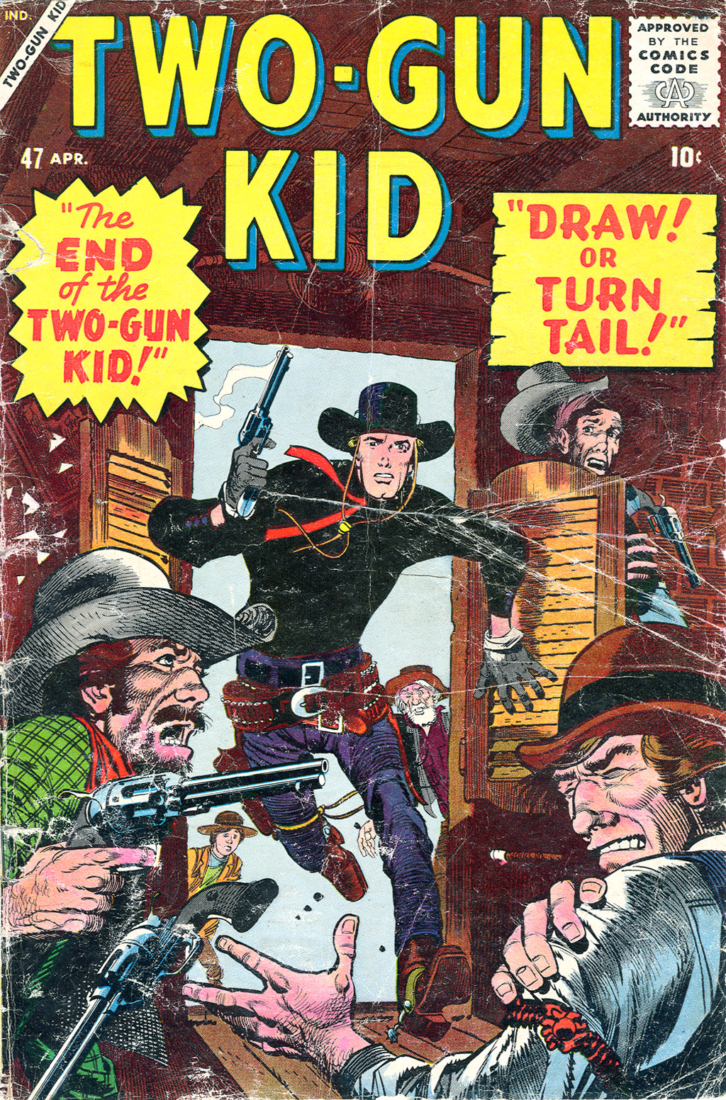 Two-Gun Kid issue 47 - Page 1