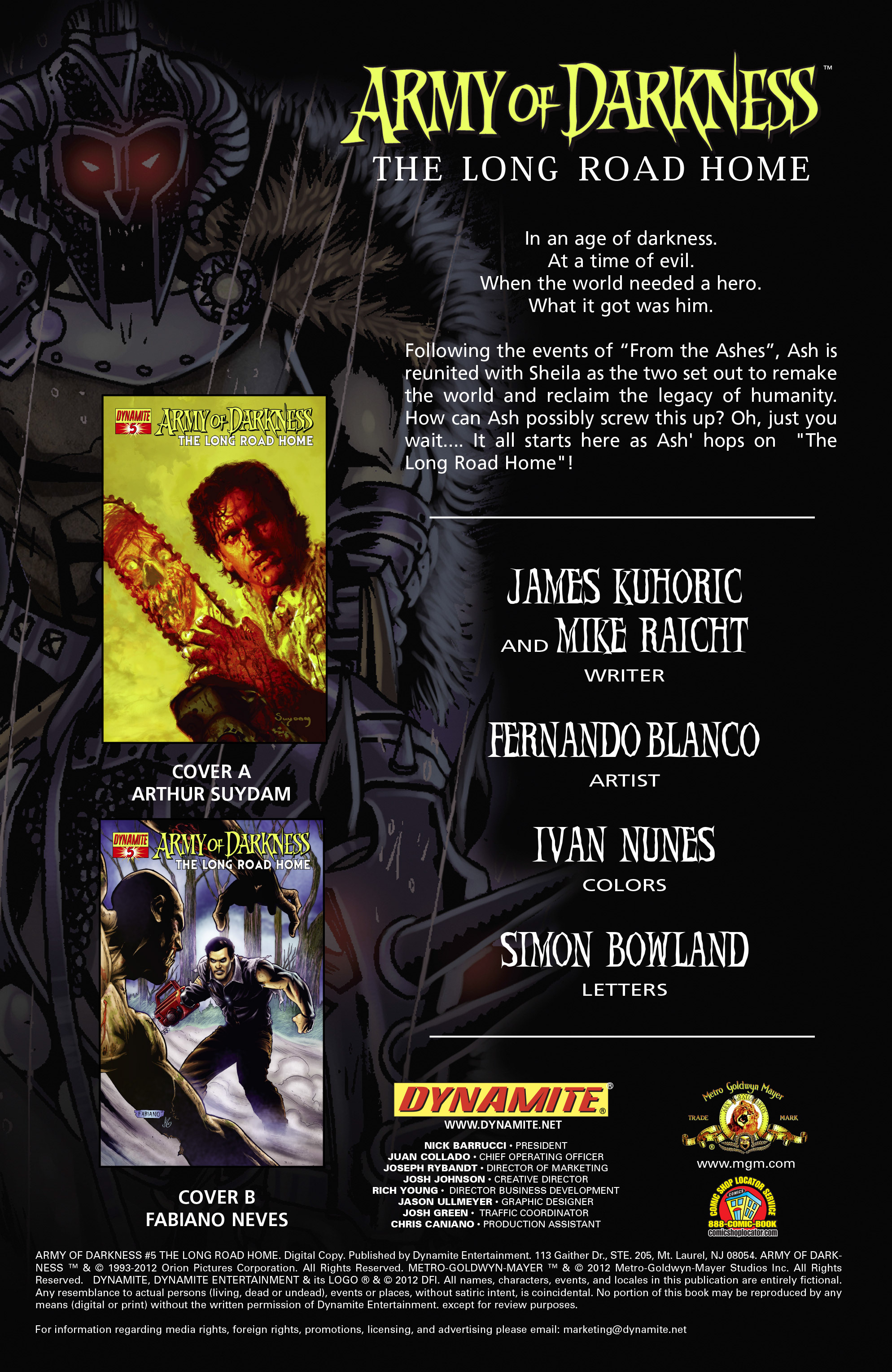 Read online Army of Darkness: The Long Road Home comic -  Issue #Army of Darkness: The Long Road Home TPB - 7