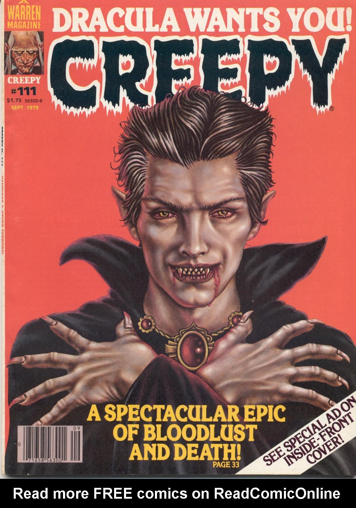Creepy (1964) 111 Page 1