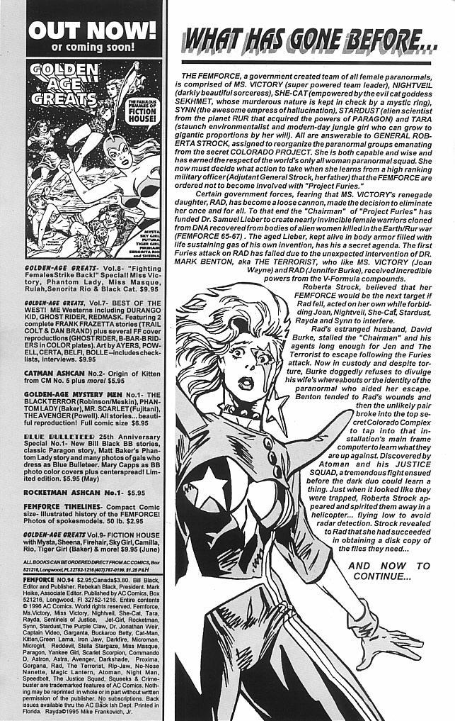 Femforce Issue #94 #94 - English 2